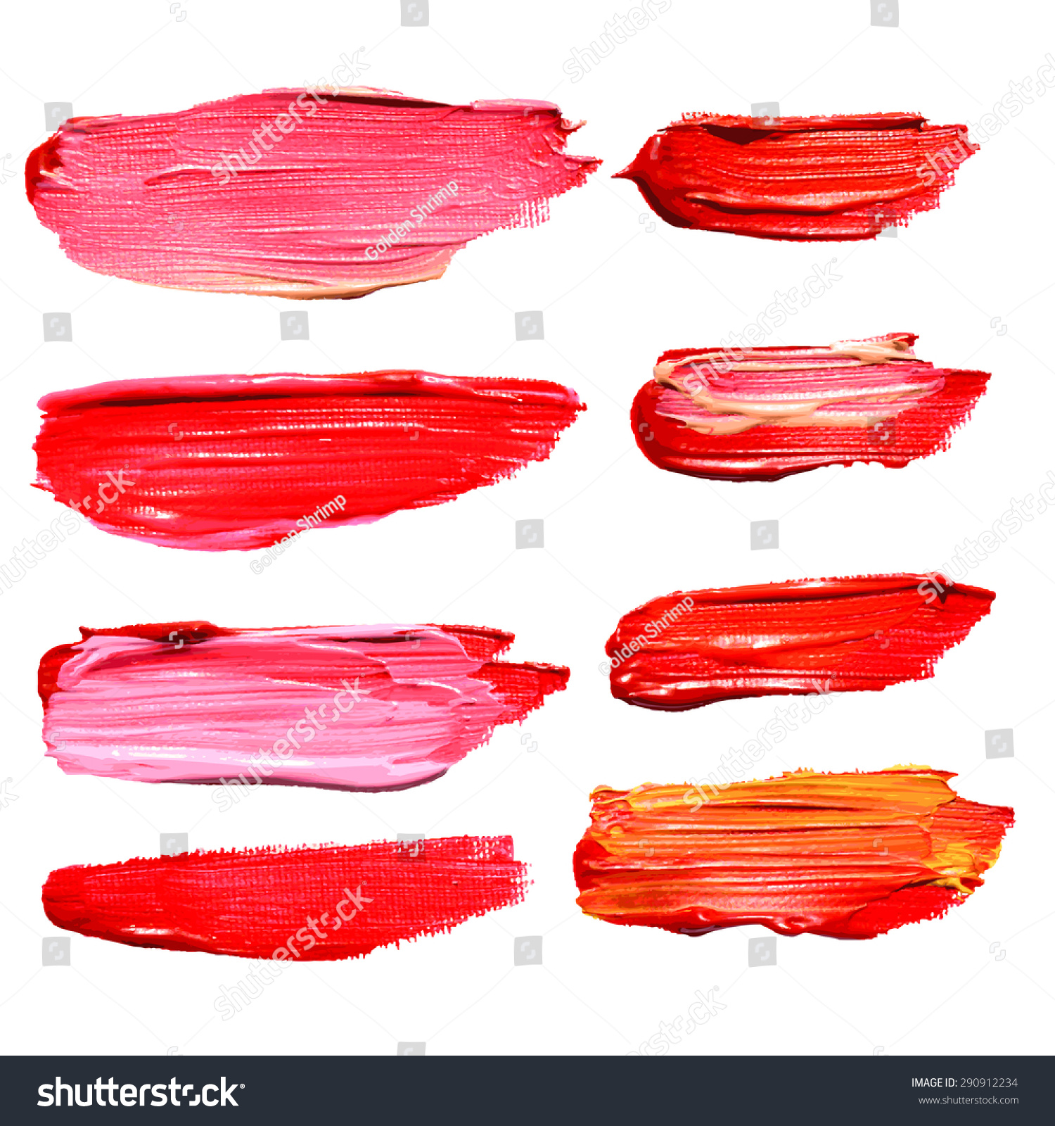 Acrylic Paint Brush Illustrator