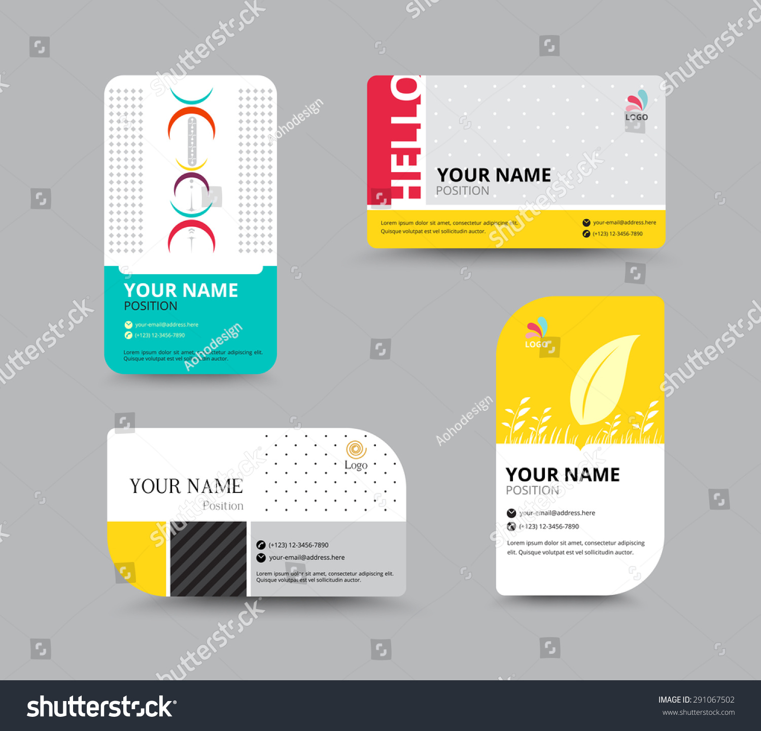 Sample name card sample profit and loss statement funeral business card template name card design stock vector 291067502 stock vector business card template name card design for business include sample text layout magicingreecefo Choice Image