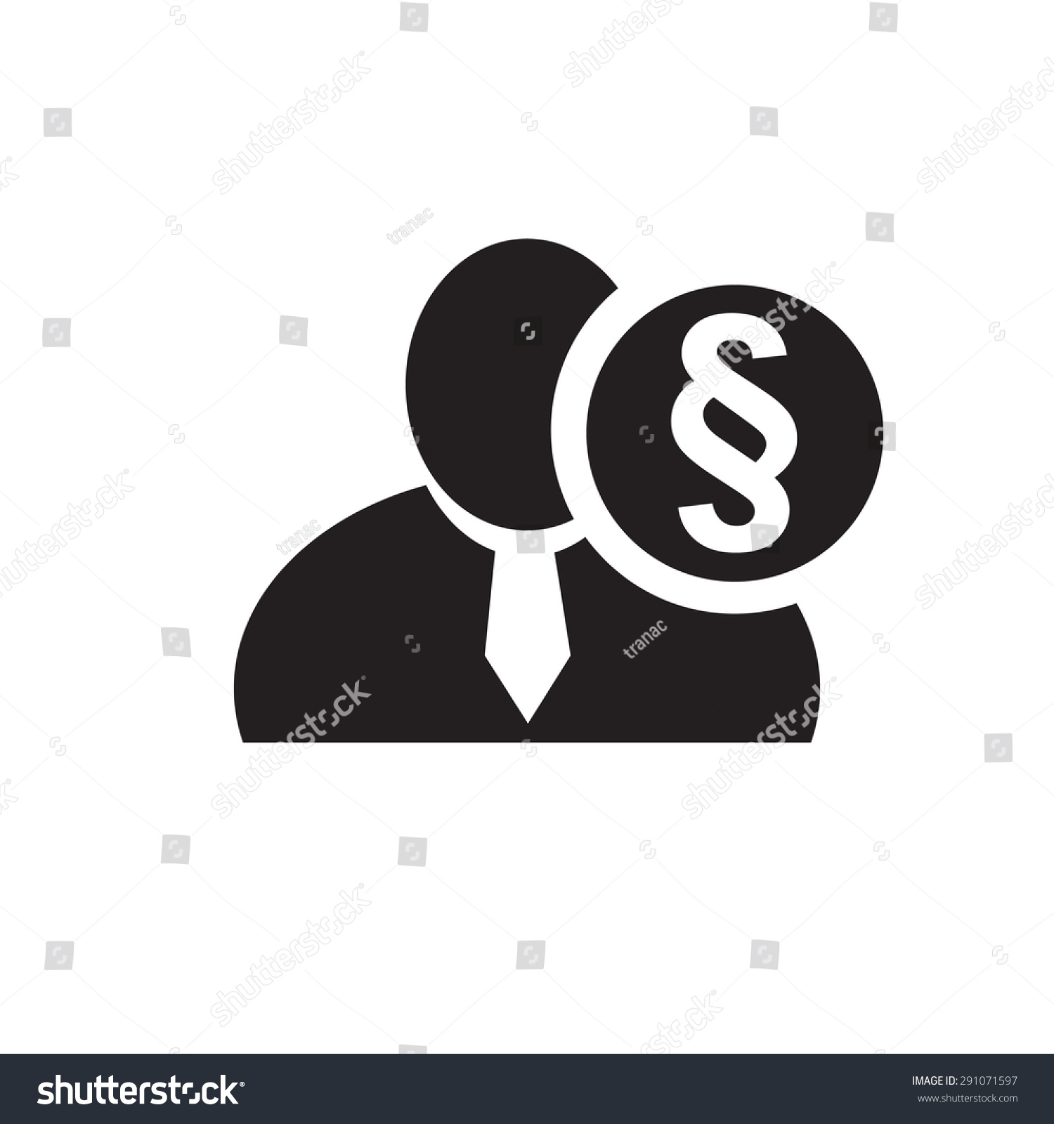 Black man silhouette icon section paragraph stock vector 291071597 black man silhouette icon with section or paragraph sign in an information circle flat design buycottarizona Choice Image
