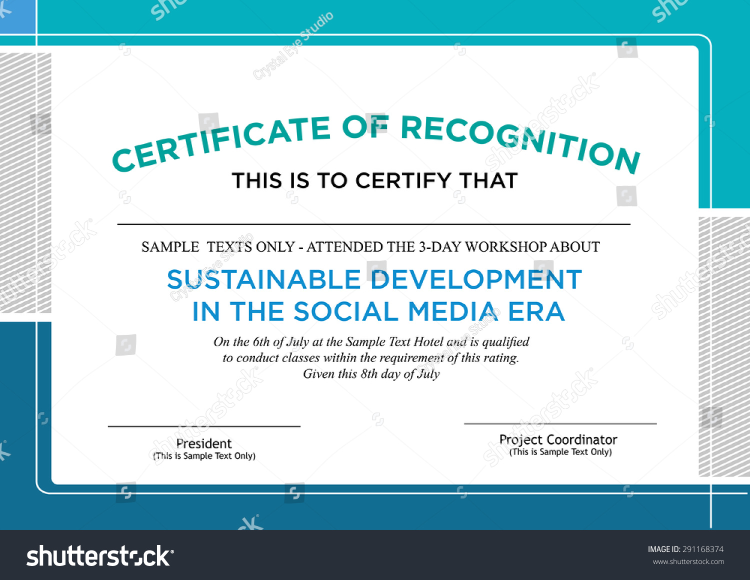 Sample of certification of recognition kardasklmphotography sample of certification of recognition yadclub Choice Image