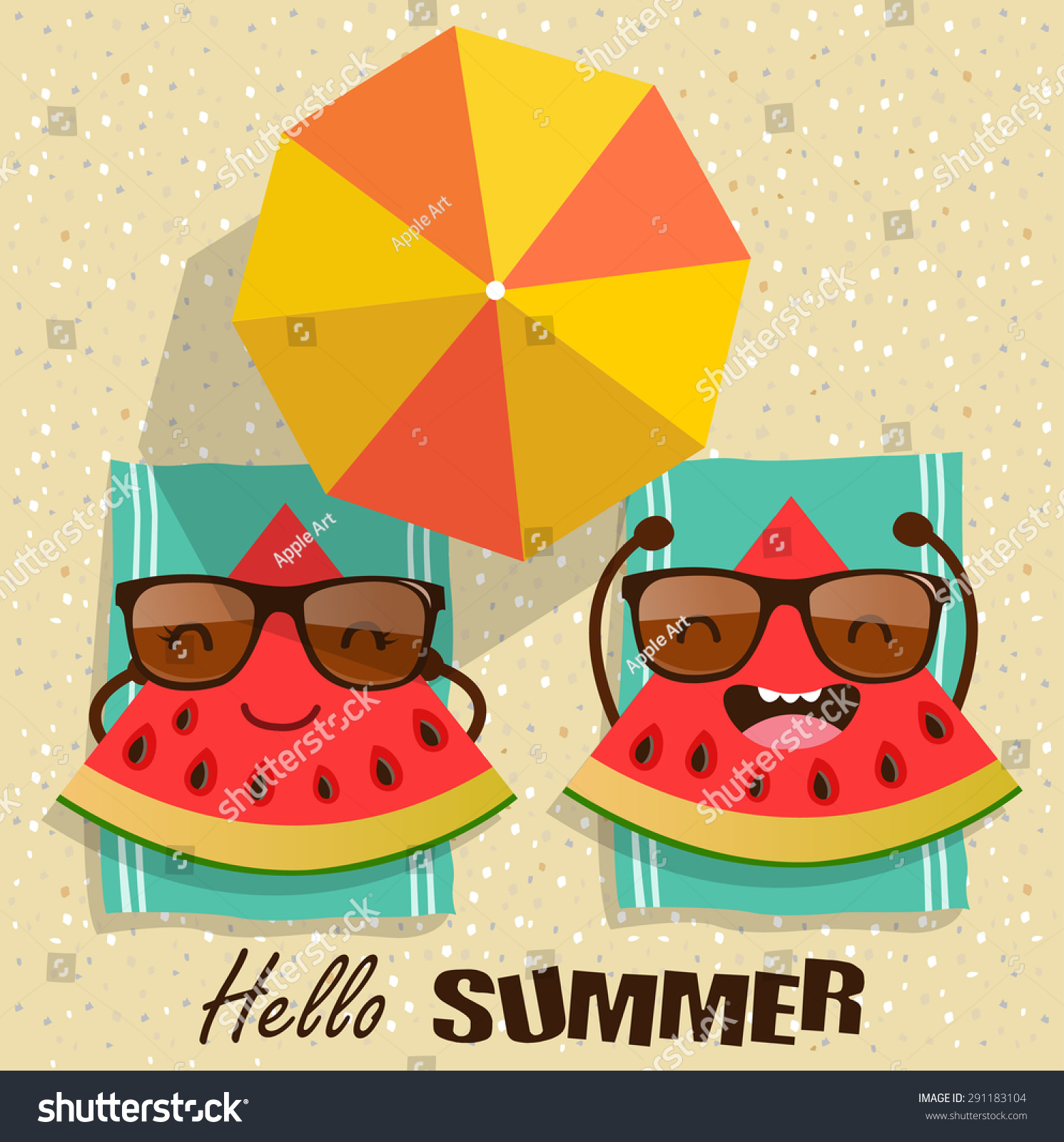 summer vector illustraitons - photo #26