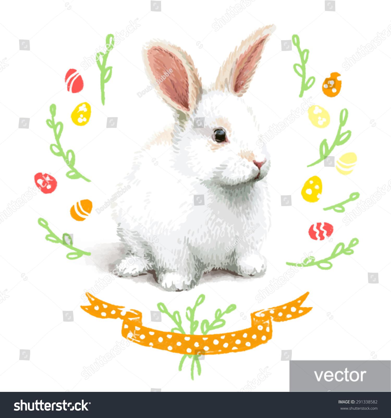 Realistic rabbit illustration - photo#16