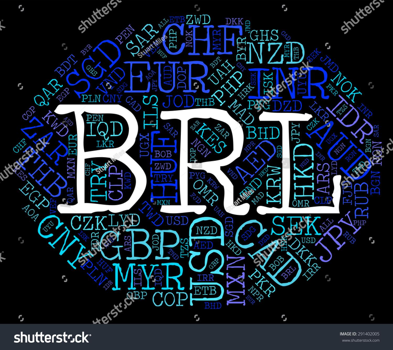 Brl currency indicating foreign exchange brazil stock illustration brl currency indicating foreign exchange and brazil buycottarizona Images