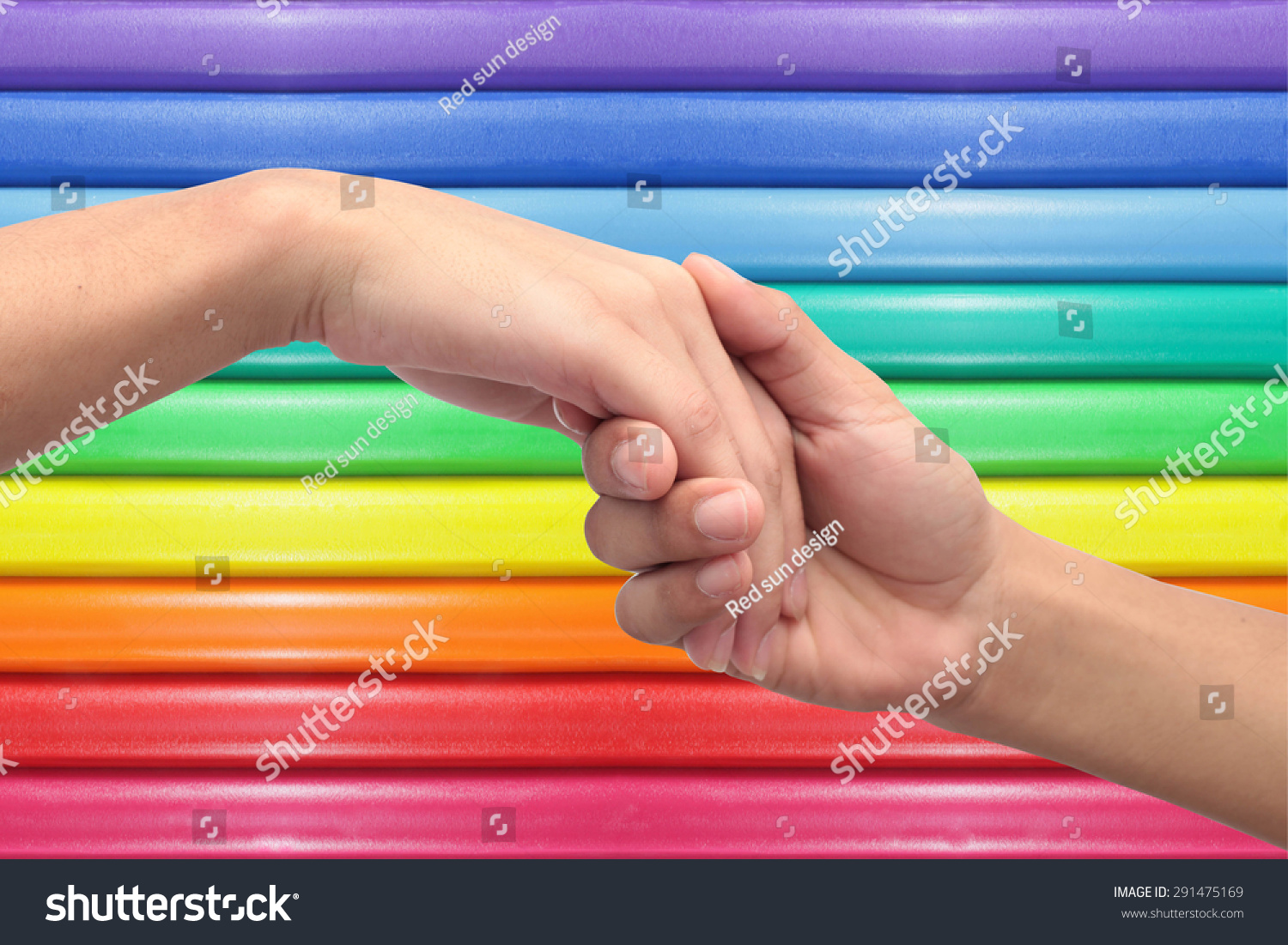 Touch Hand Shows Love Trust Confidence Stock Photo Edit Now