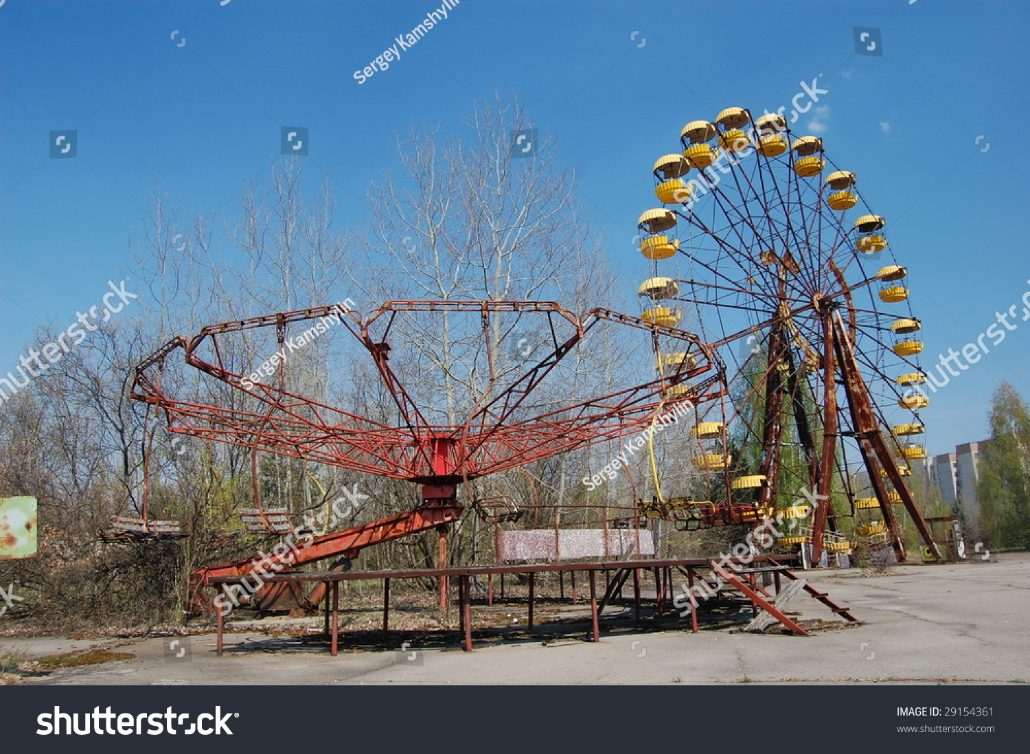 Chernobyl lost city pictures
