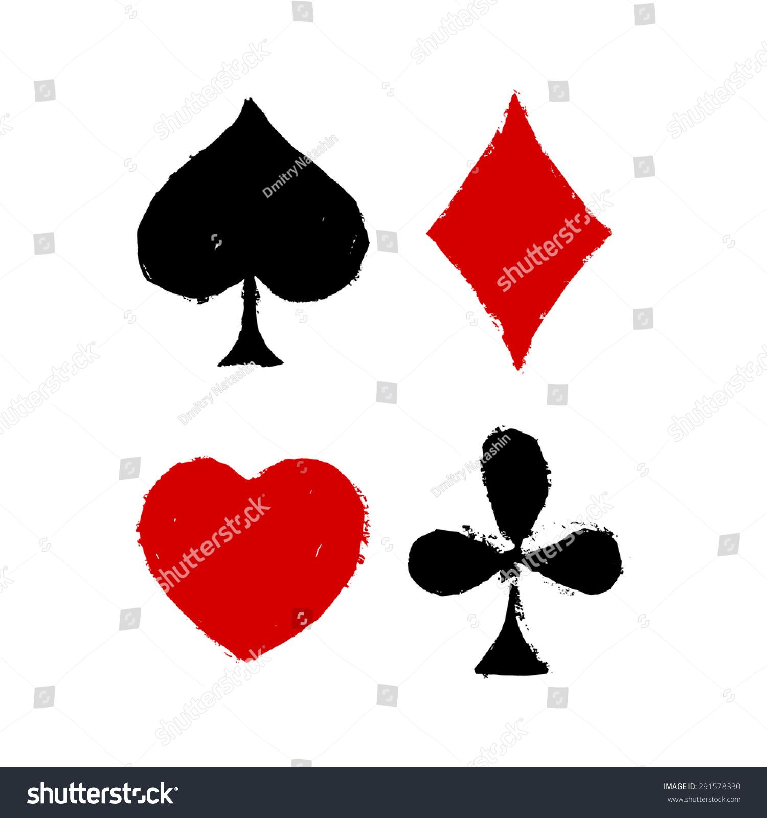 Vintage playing cards symbols vector illustration stock vector vintage playing cards symbols vector illustration biocorpaavc