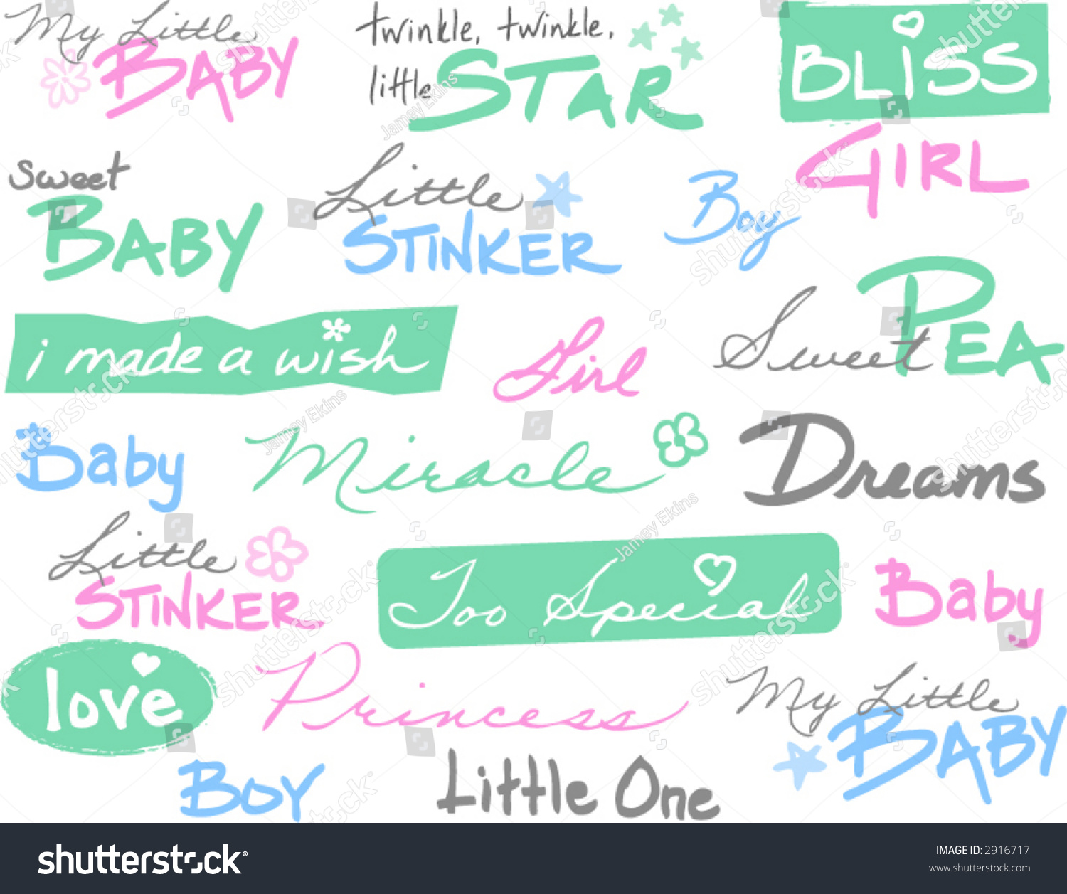 baby words phrases transparent can go stock vector royalty free