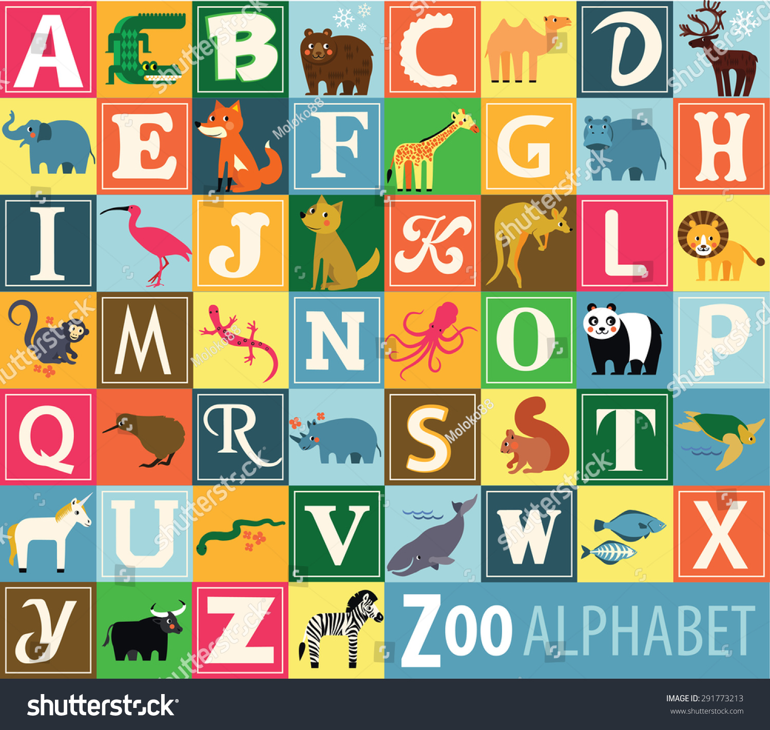 Alphabet at The Zoo Details