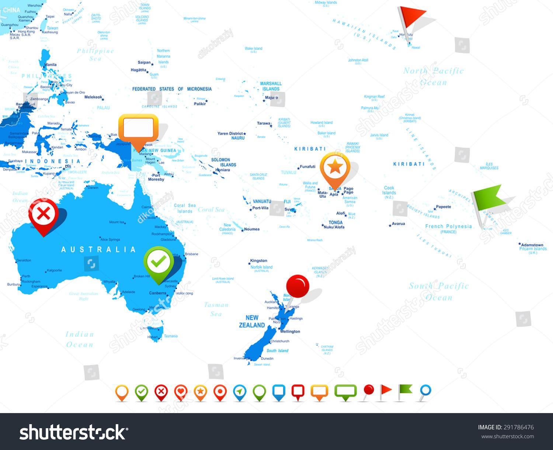 Australasia Map Oceania With Links Alaska Road Map Free Topo Maps - Polynesian migration map oceania