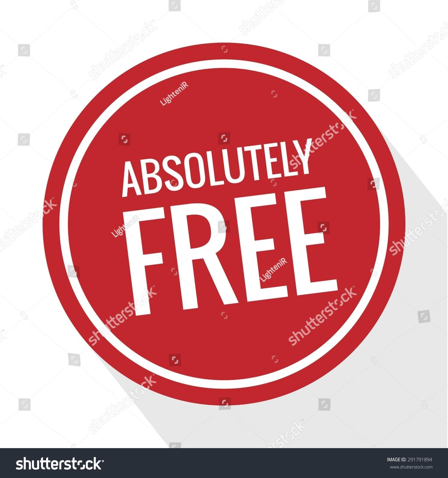 free free badge free tag free stock vector royalty free 291791894