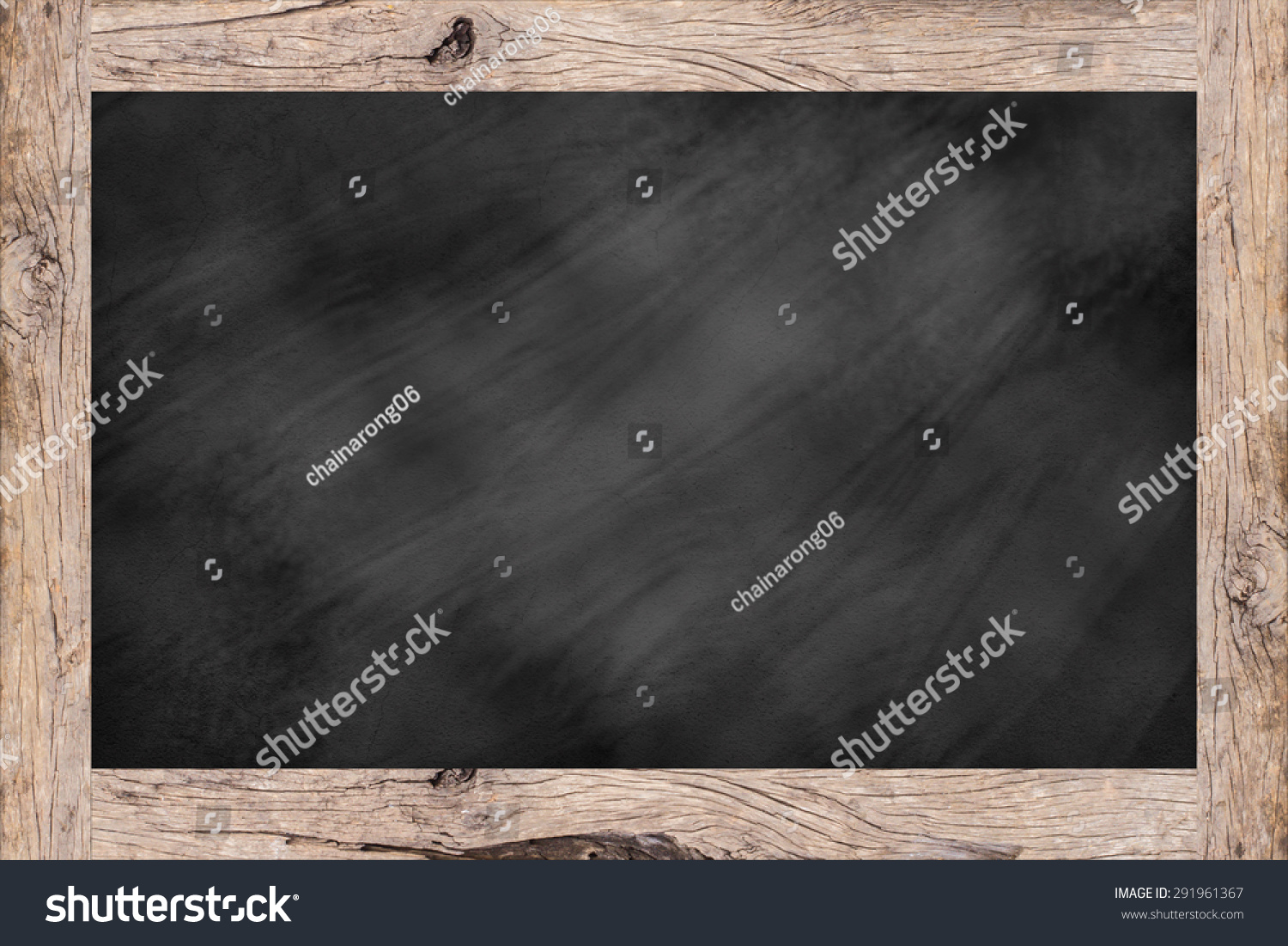 ... background textures with old vintage wooden frame ,blackboard concept