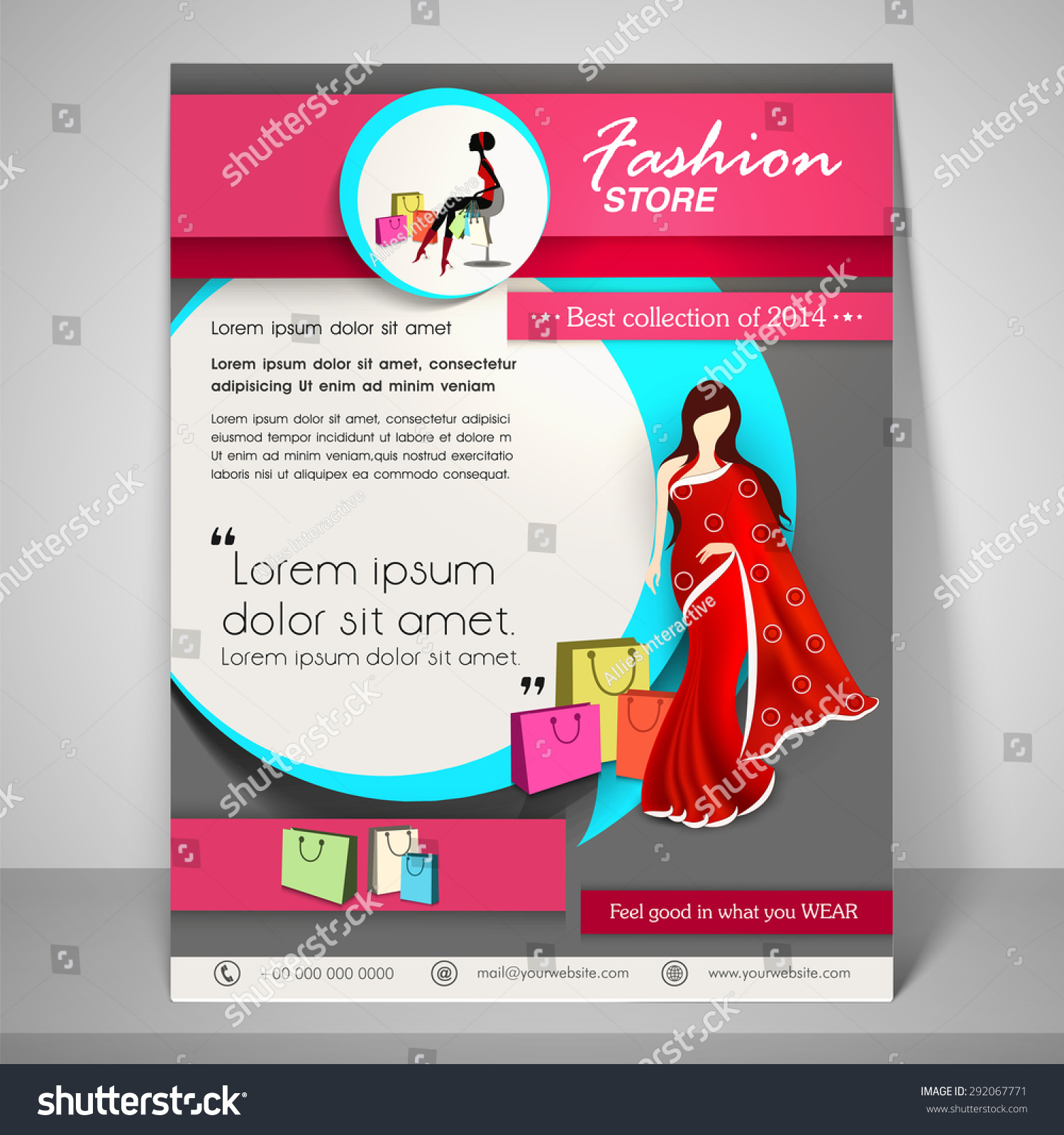 template best fashion flyer psd templates designs best fashion flyer template 8 >>