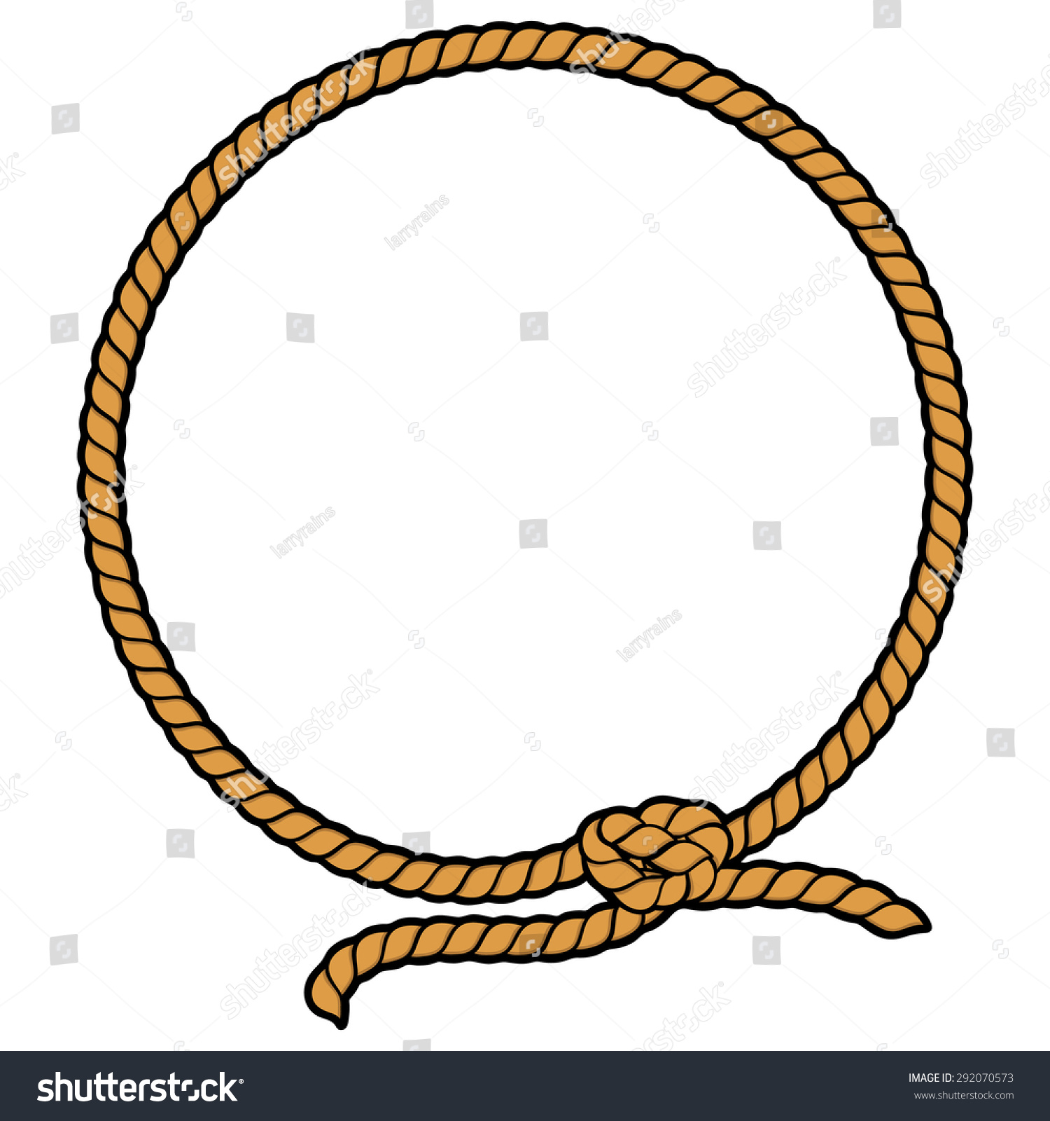 clipart rope border circle - photo #36