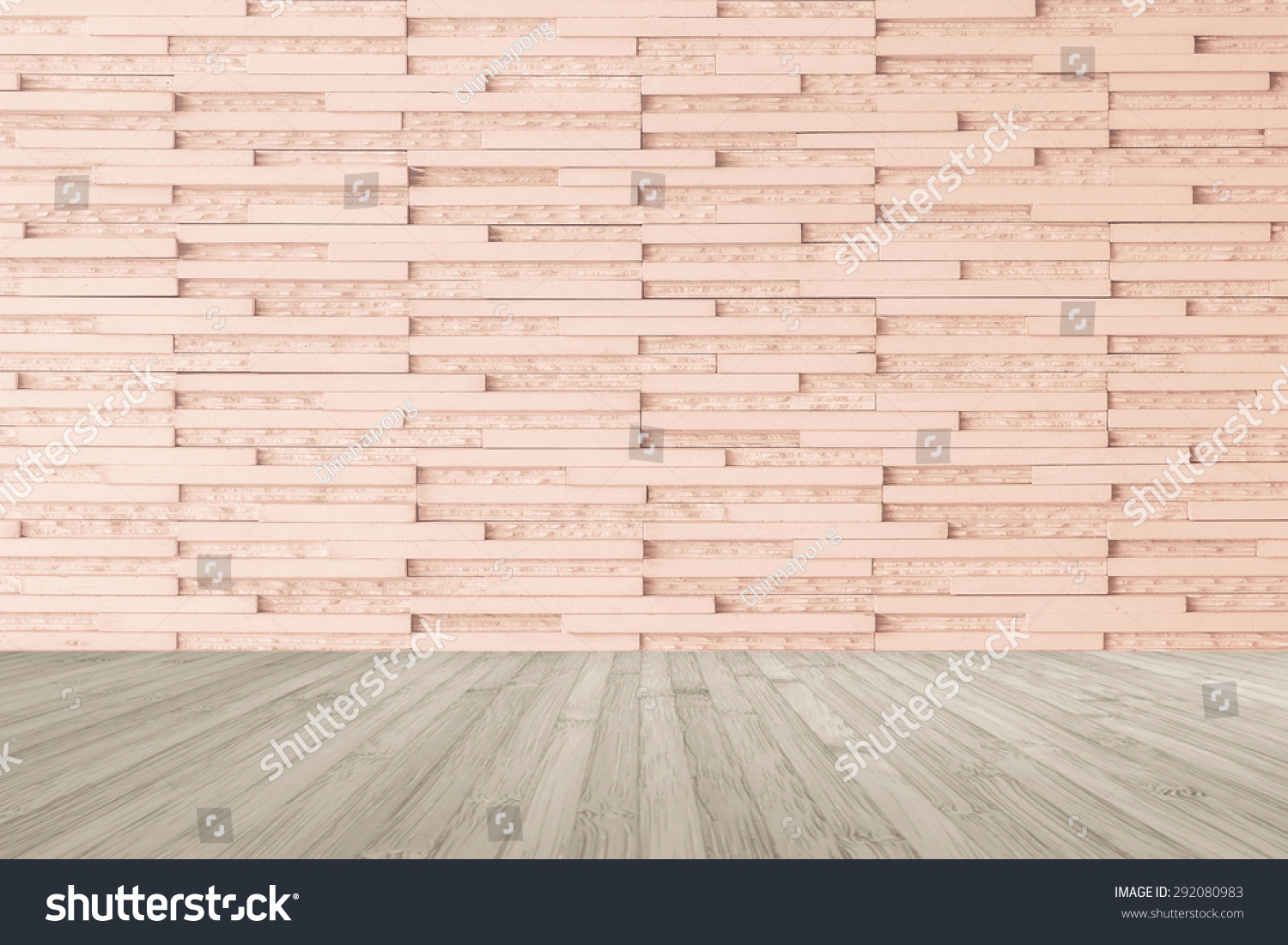 Modern Marble Tile Wall In Light Red Brown Color With Wooden Floor Sepia Grey