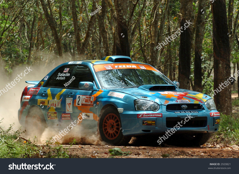 Subaru Impreza Wrx Rally Car Stock Photo 2920821 - Shutterstock