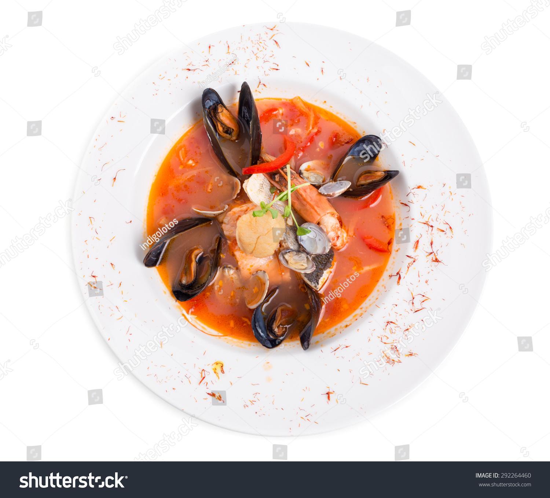 Spicy Tomato Seafood Soup Saffron ...