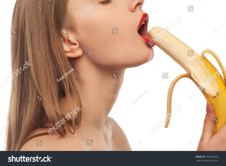 Фото девушки и бананы 18 фотография
