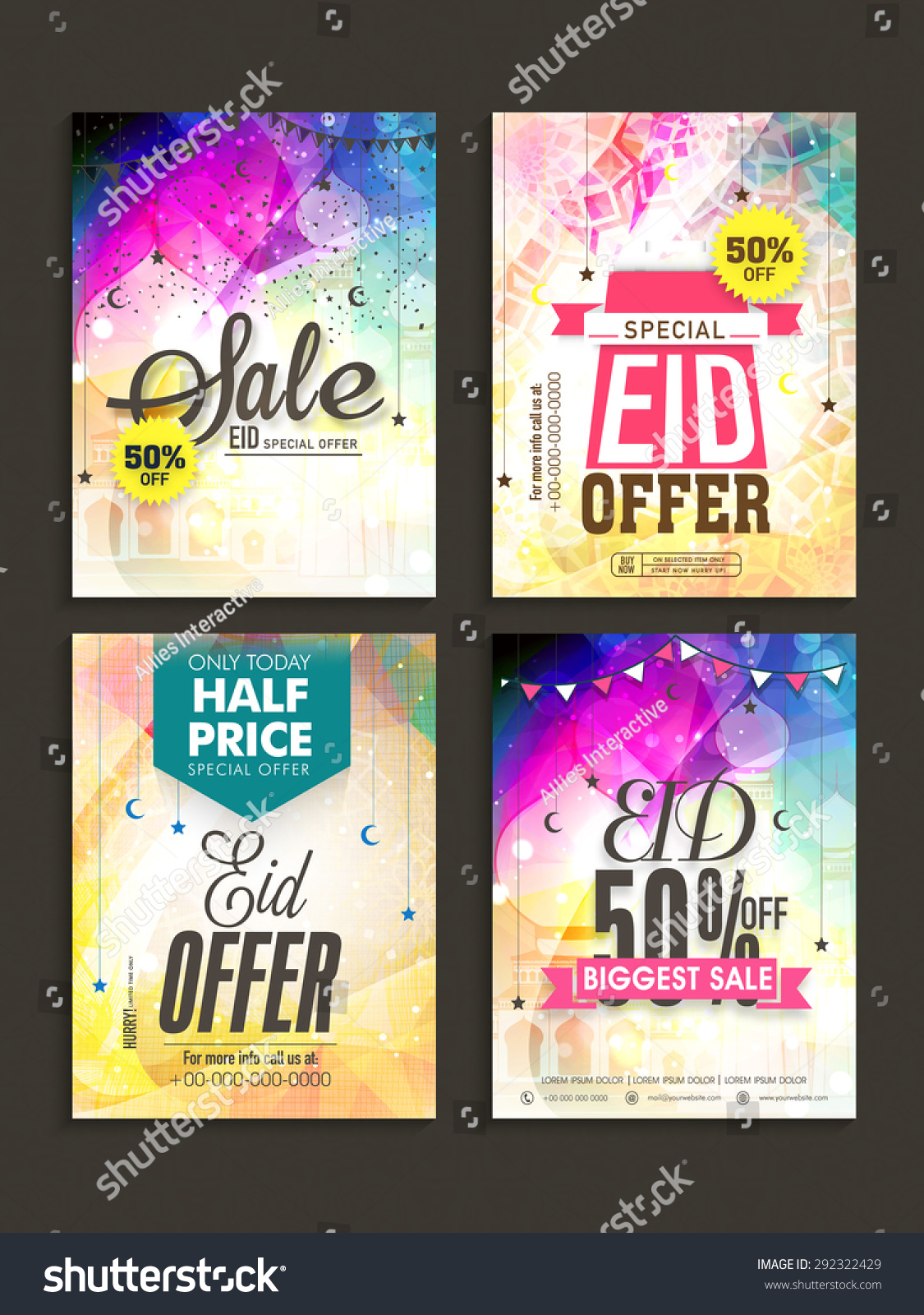 Beautiful Poster Banner Flyer Design Decorated Vector – Sale Flyer Design