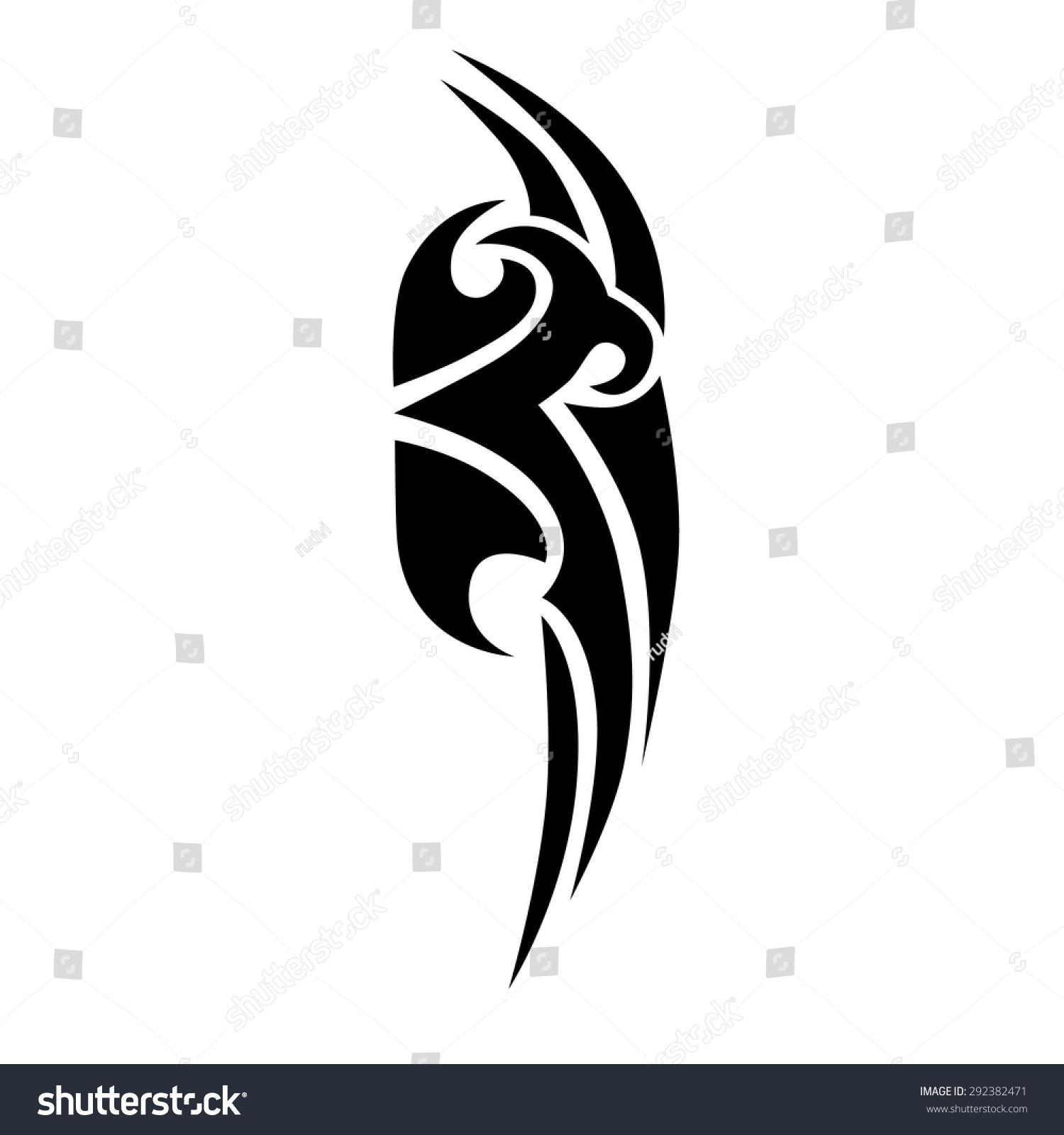 Tribal-Tattoos stock-vector-tribal-tattoos-design-element-art-tribal-tattoo-292382471