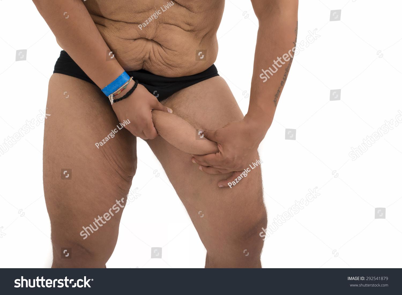 Naked women fat men