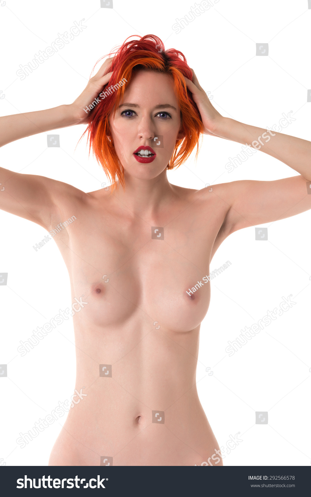 Apologise, Nude girls with dyed red hair