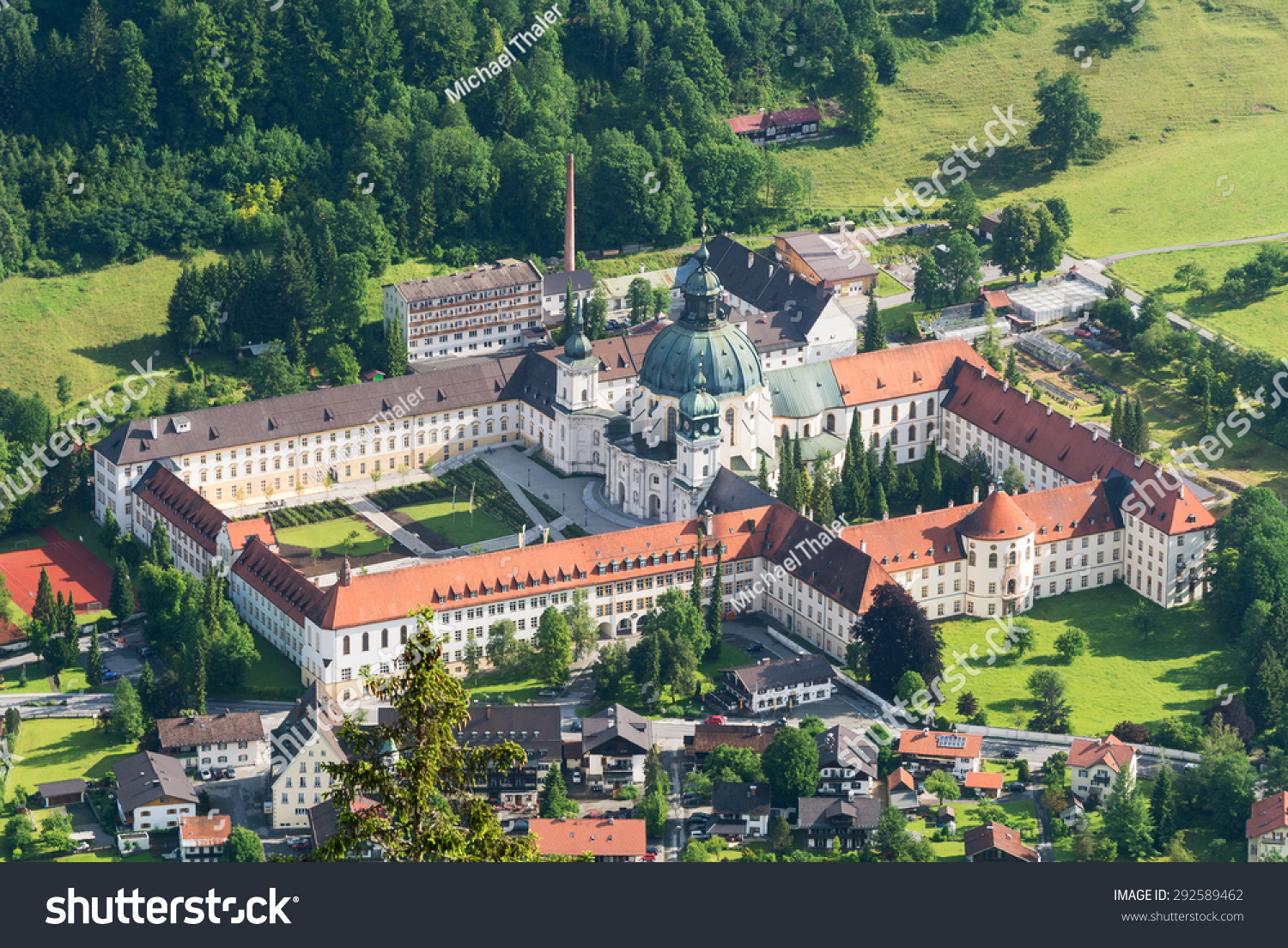 Ettal Germany  city images : ... To It, Ettal, Bavaria, Germany Stock Photo 292589462 : Shutterstock