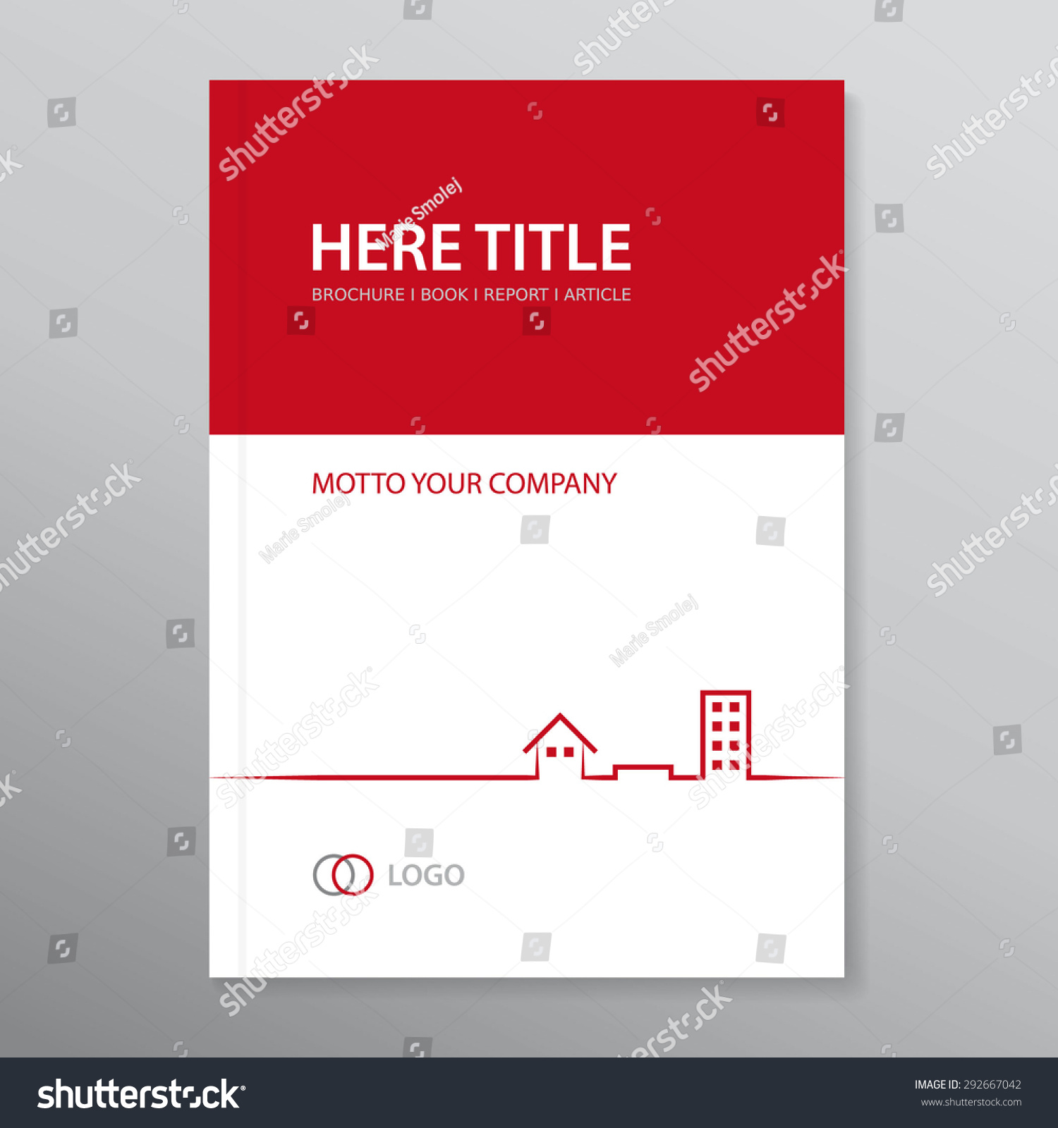 vector brochure annual report book cover stock vector  vector brochure annual report book cover audit report template icons of