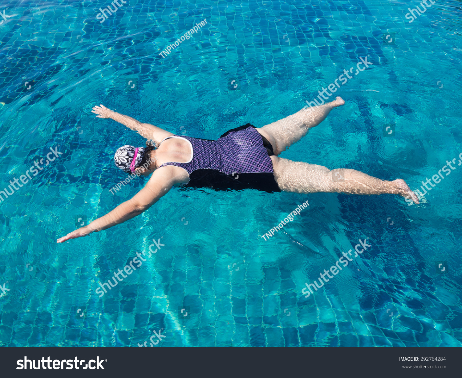 Fat Woman Swimming 12