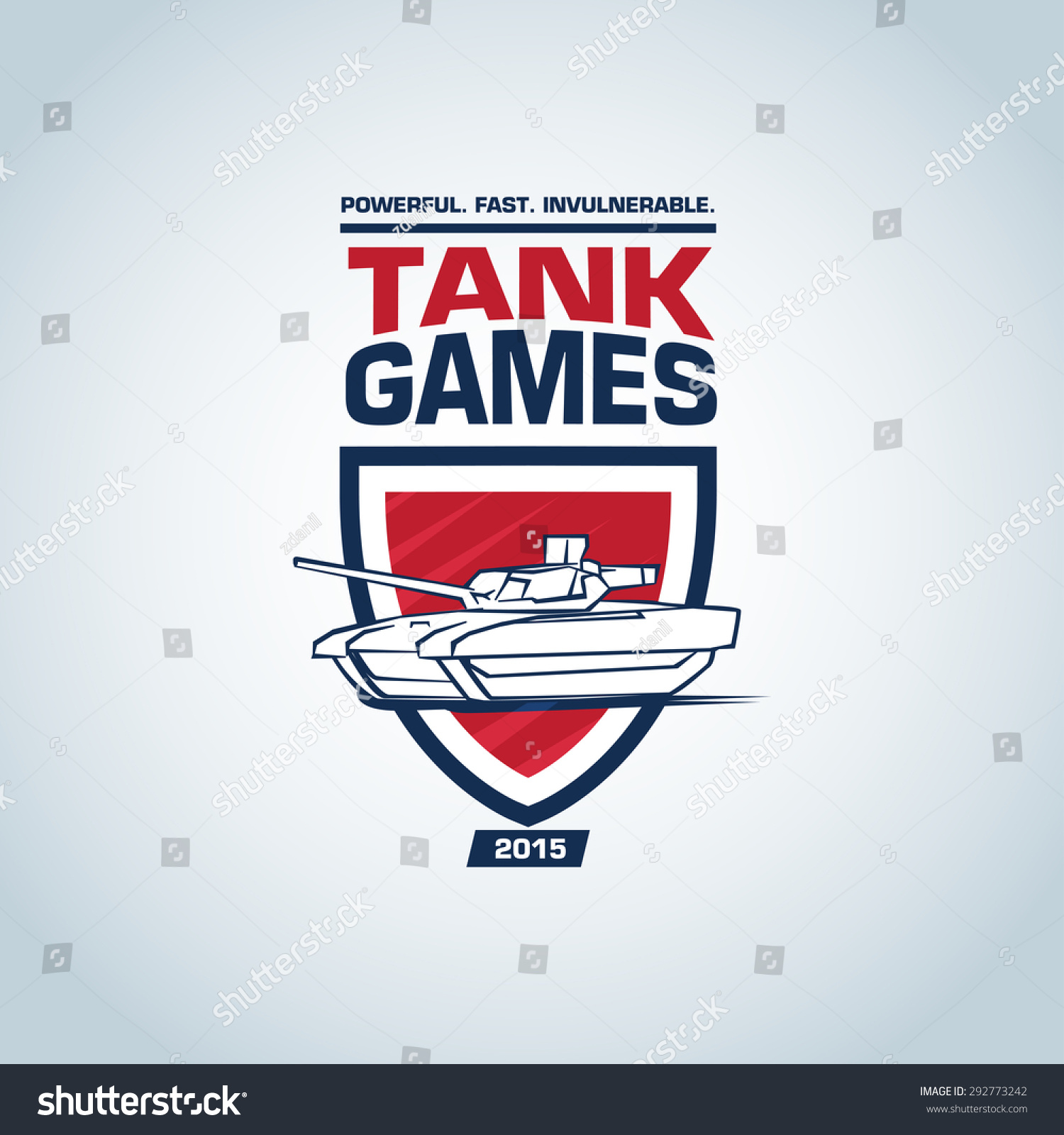 tank logo template tank logotype template stock vector 292773242 shutterstock. Black Bedroom Furniture Sets. Home Design Ideas