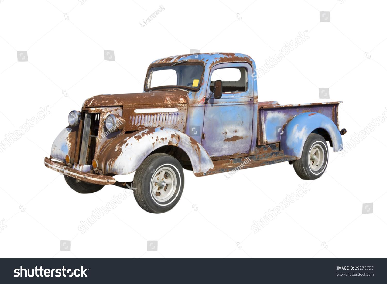 Old Pickup Truck Starter Major Restoration Stock Photo (Royalty Free ...