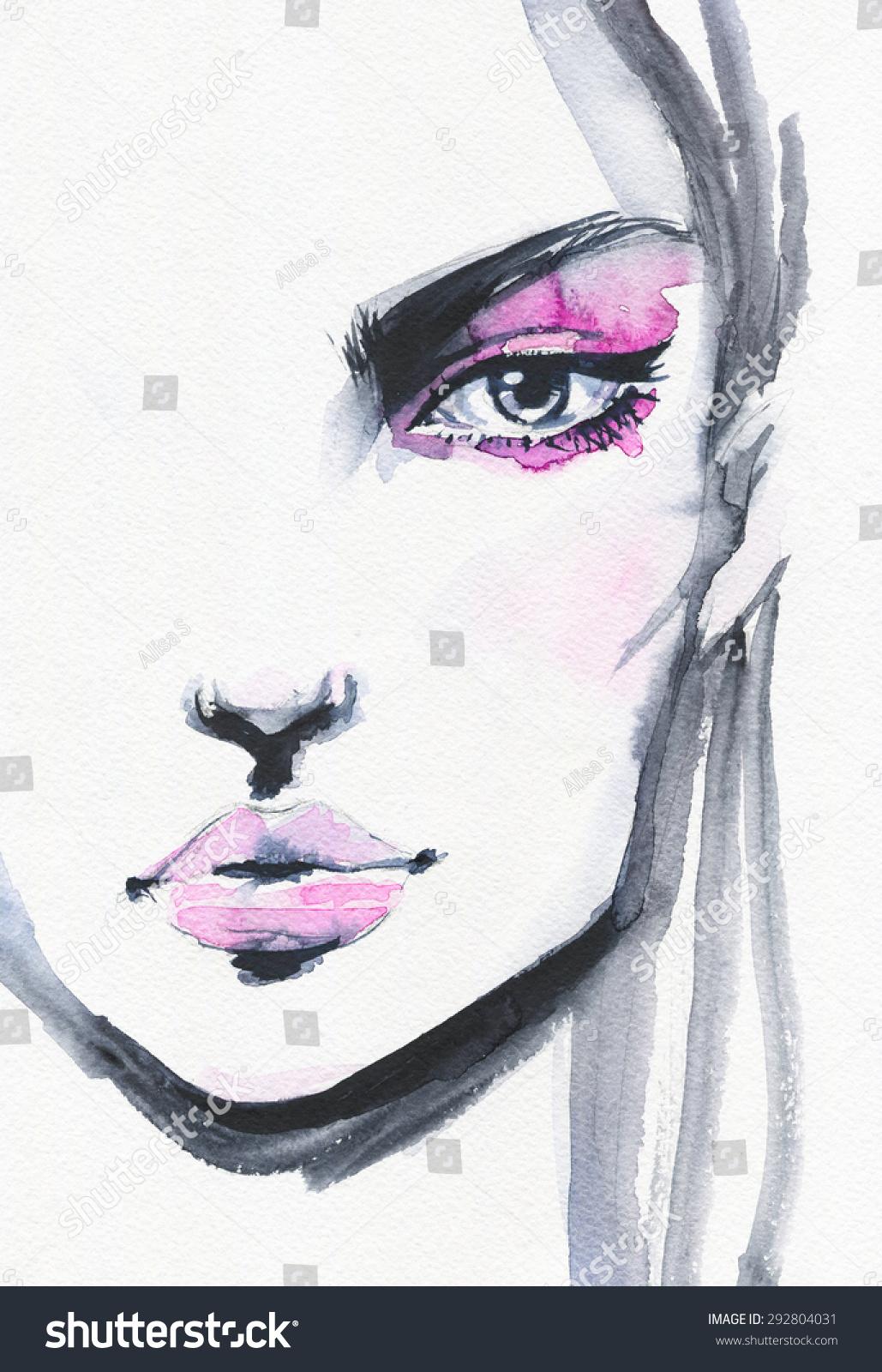Beautiful Watercolor Illustrations