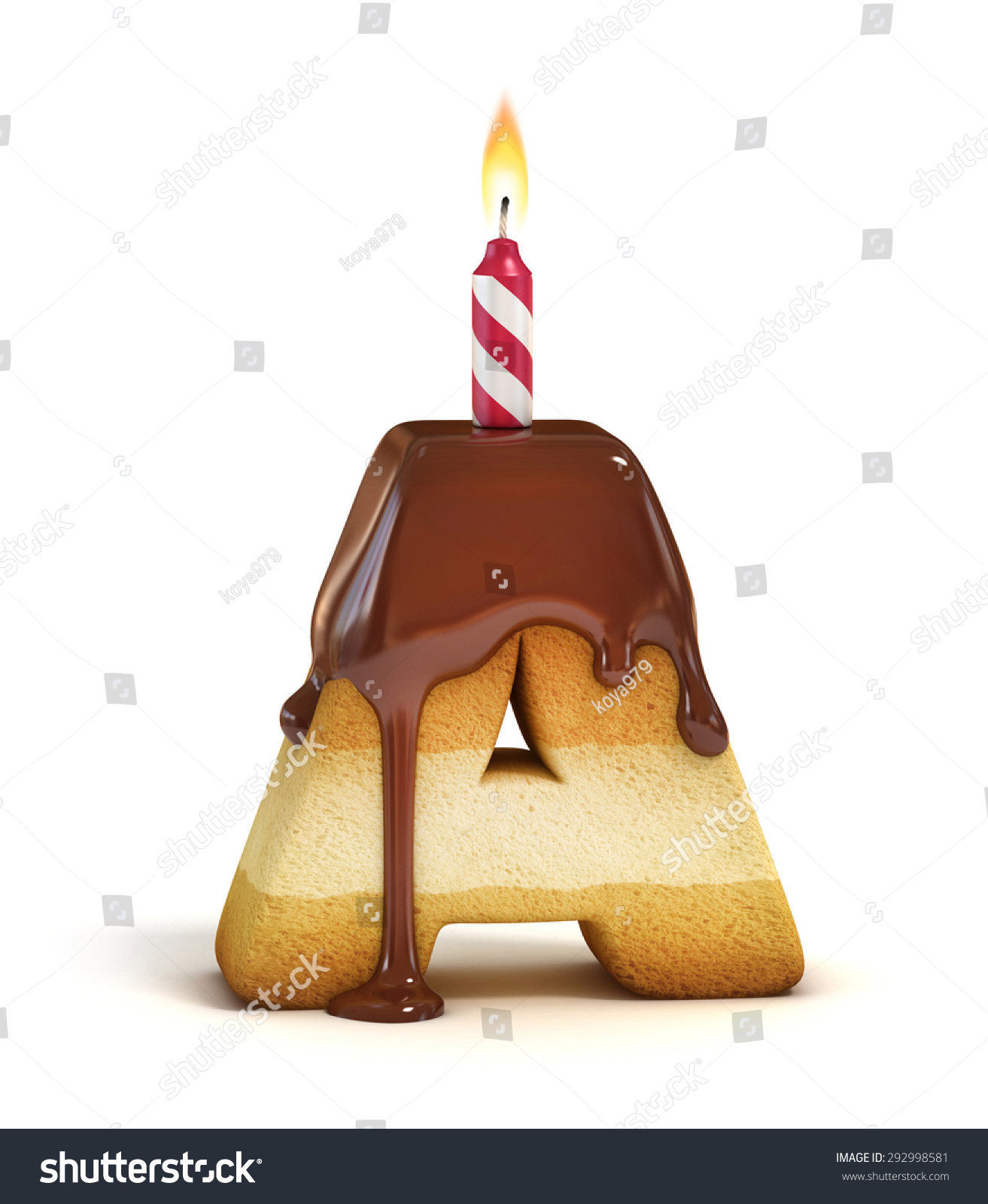 Cake Images With Letter S : Birthday Cake Font Letter A Stock Photo 292998581 ...