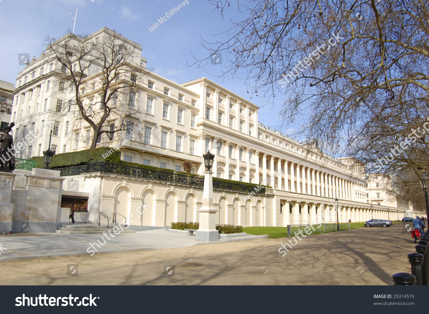 Carlton house terrace mall london england stock photo for 18 carlton house terrace