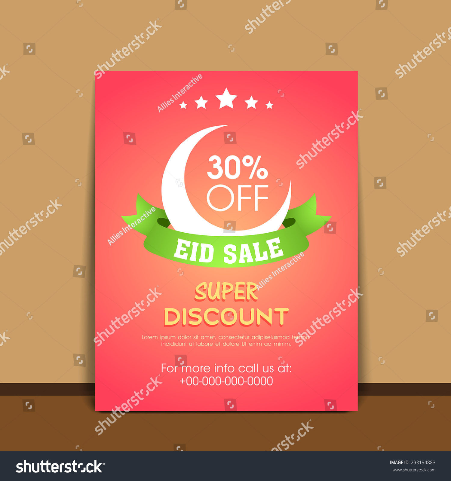 sale advertisement template