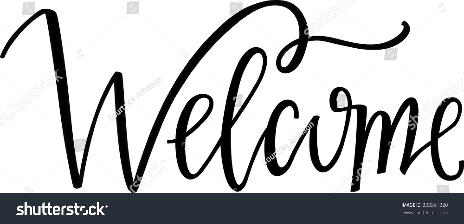 Dragon vector sign stock vector 313643336 shutterstock - Hand Lettered Welcome Sign Stock Vector Illustration