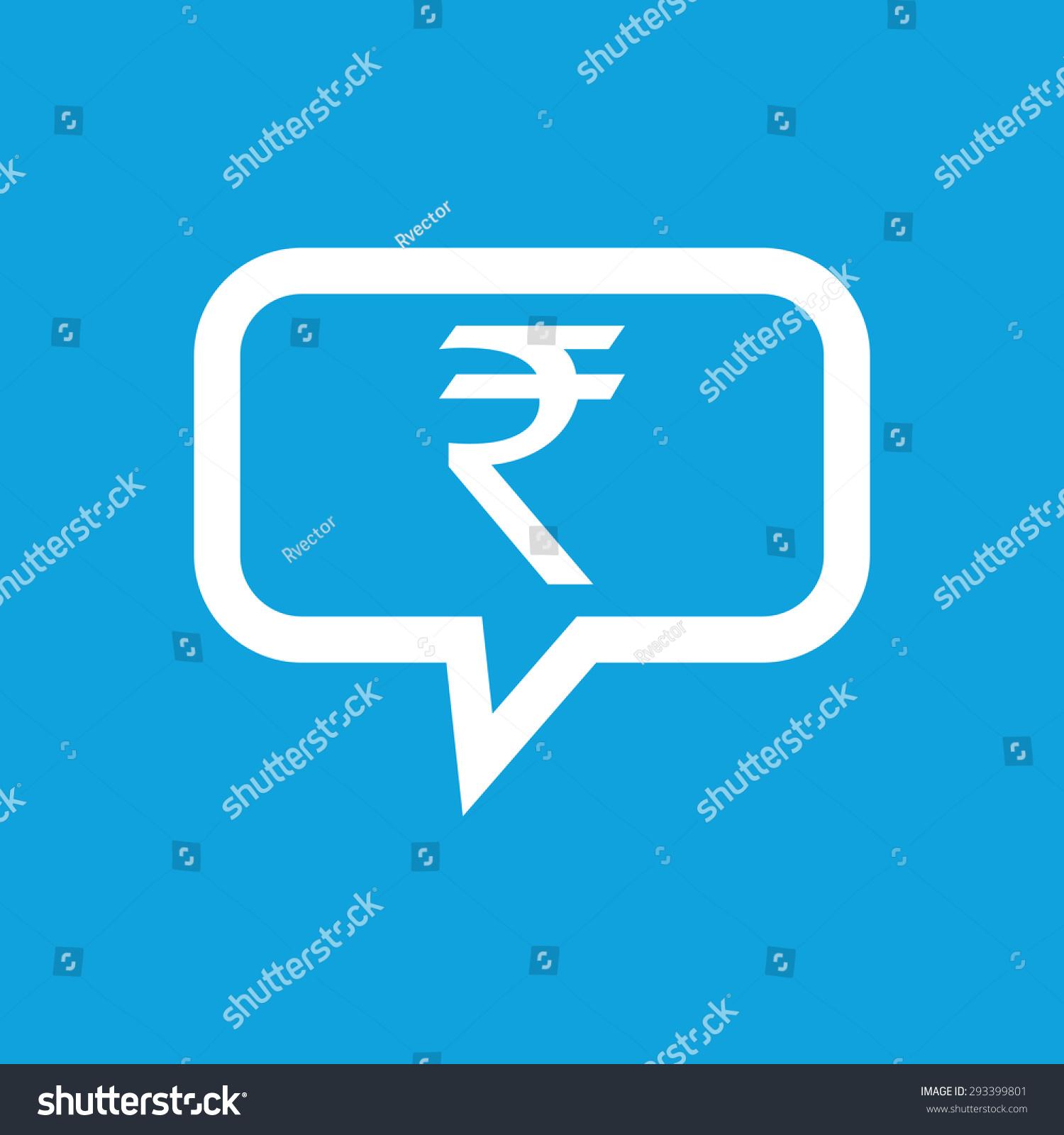 Indian rupee symbol chat bubble isolated stock illustration indian rupee symbol in chat bubble isolated on blue buycottarizona