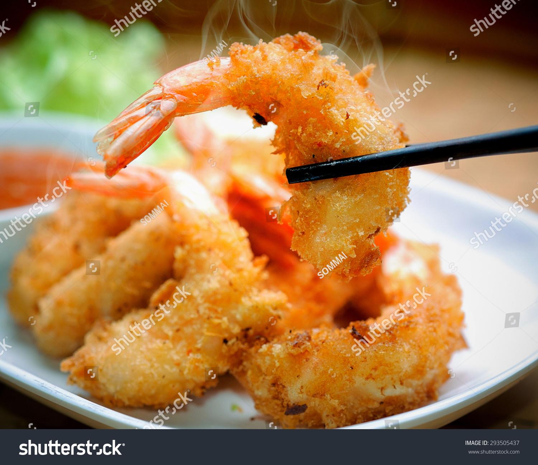 Fried Shrimp Stock Photo 293505437 : Shutterstock