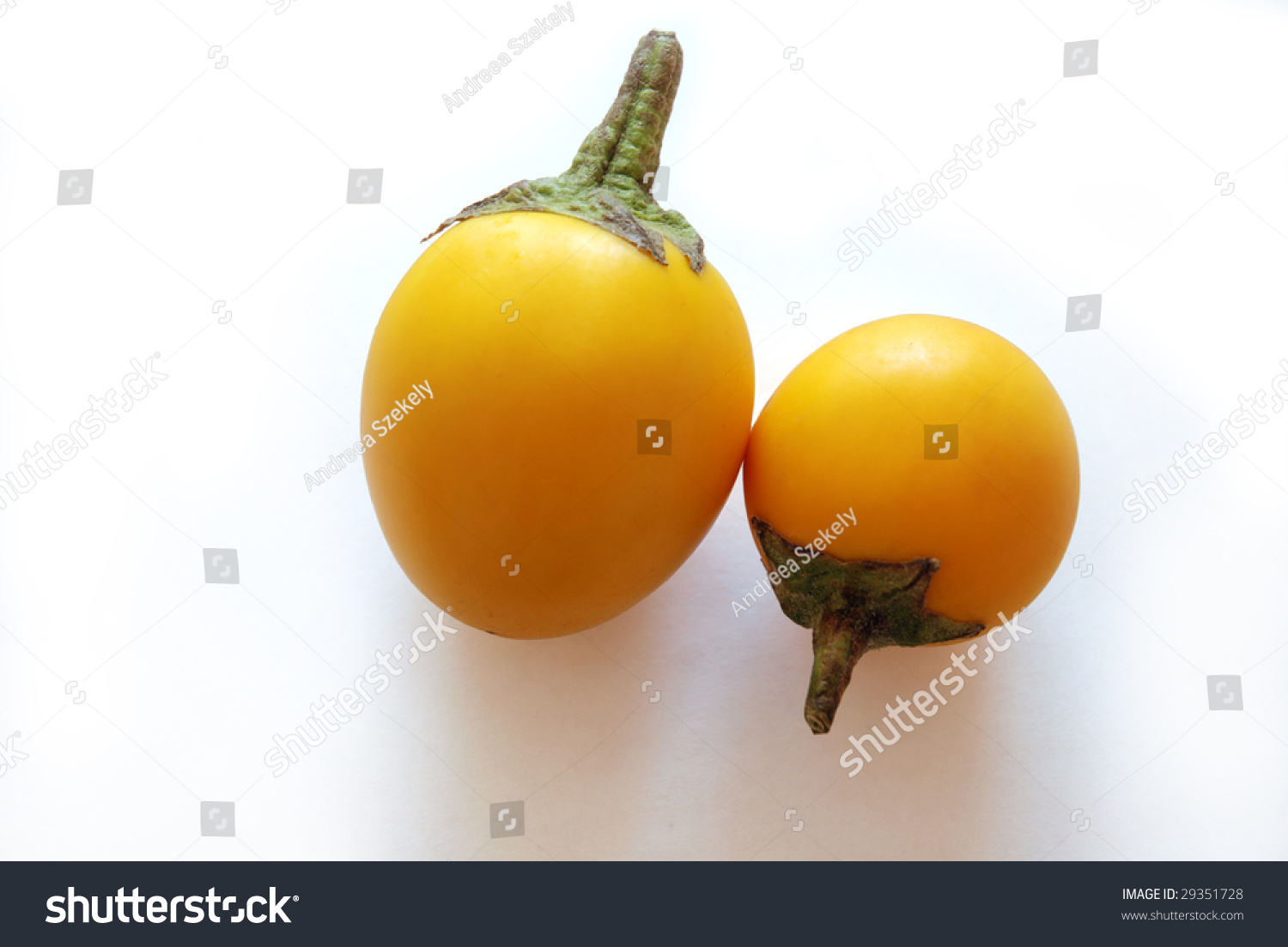 yellow fruits is eggplant a fruit