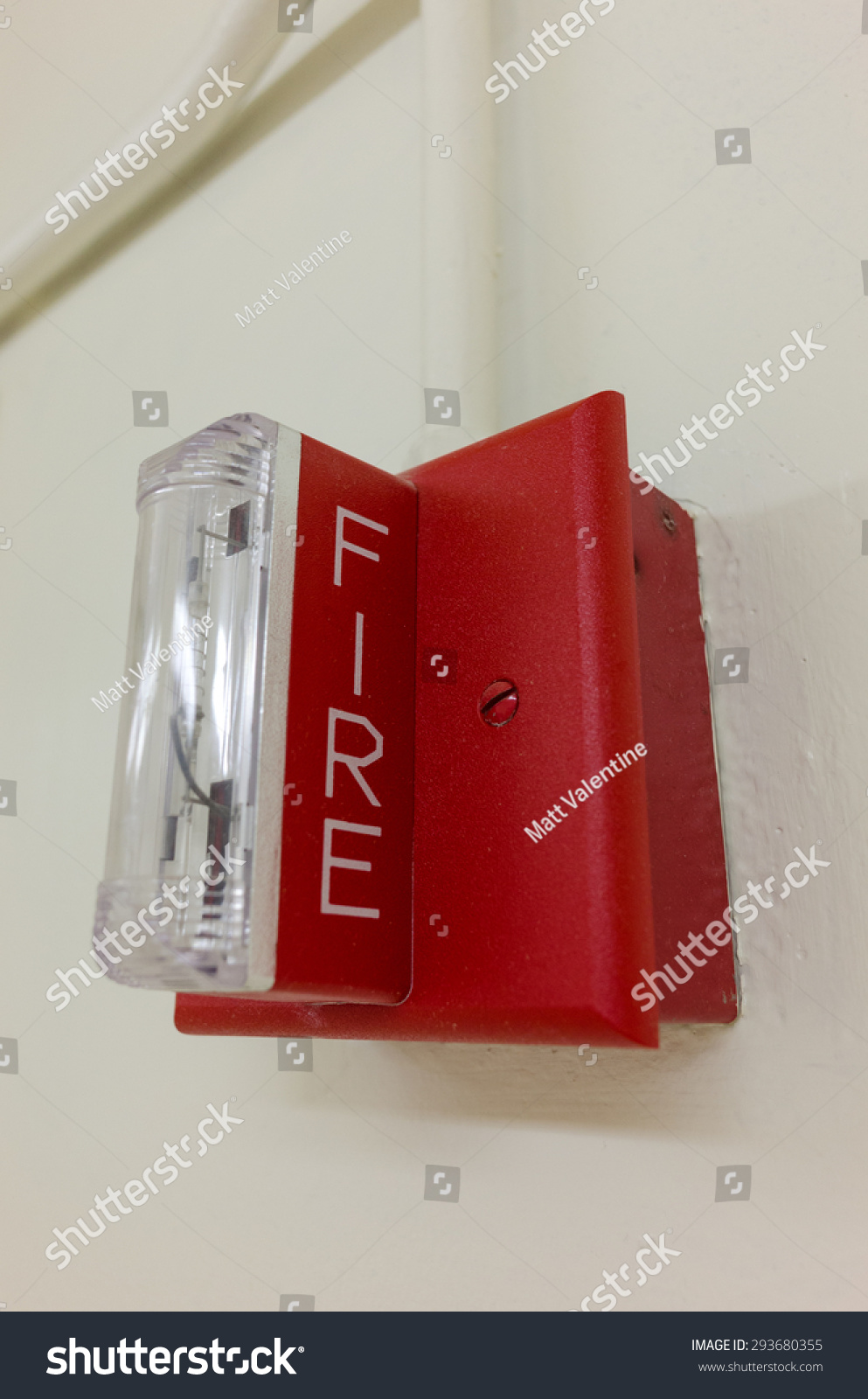 Fire Alarm Light On Wall When Stock Photo Edit Now 293680355 Emergency And A Flashing It Signals The Need To