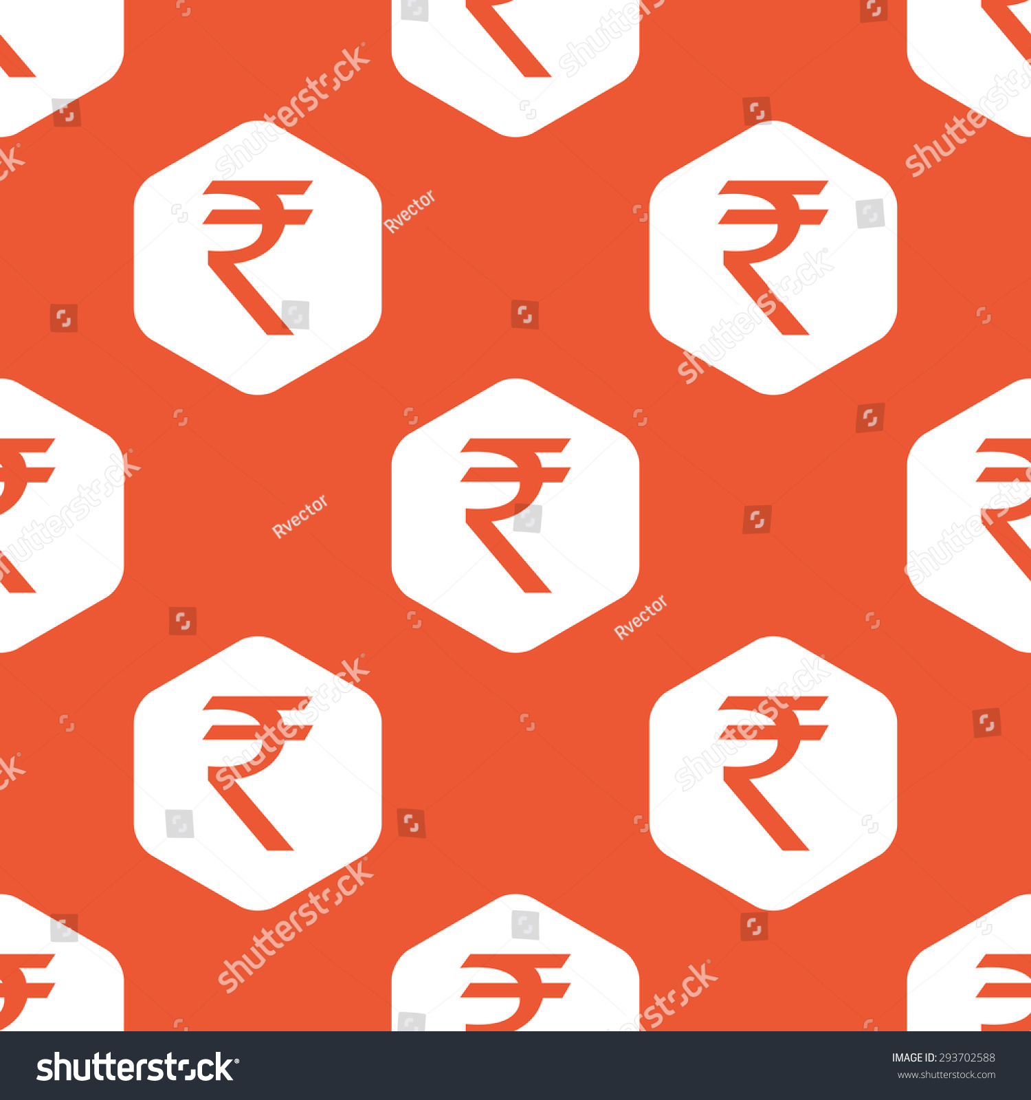 Indian rupee symbol white hexagon repeated stock vector 293702588 indian rupee symbol white hexagon repeated stock vector 293702588 shutterstock biocorpaavc Choice Image