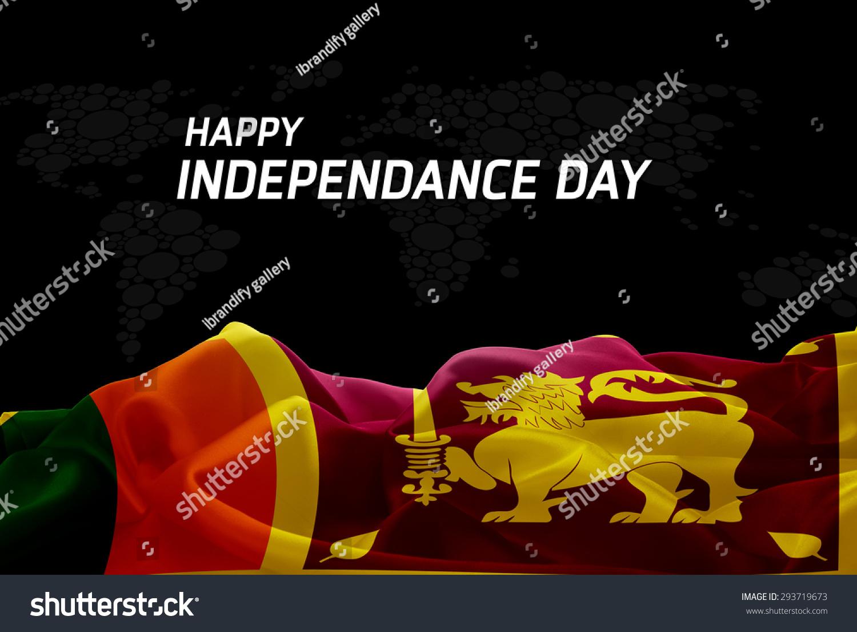 Happy Independence Day Sri Lanka Flag Stock Photo Edit Now