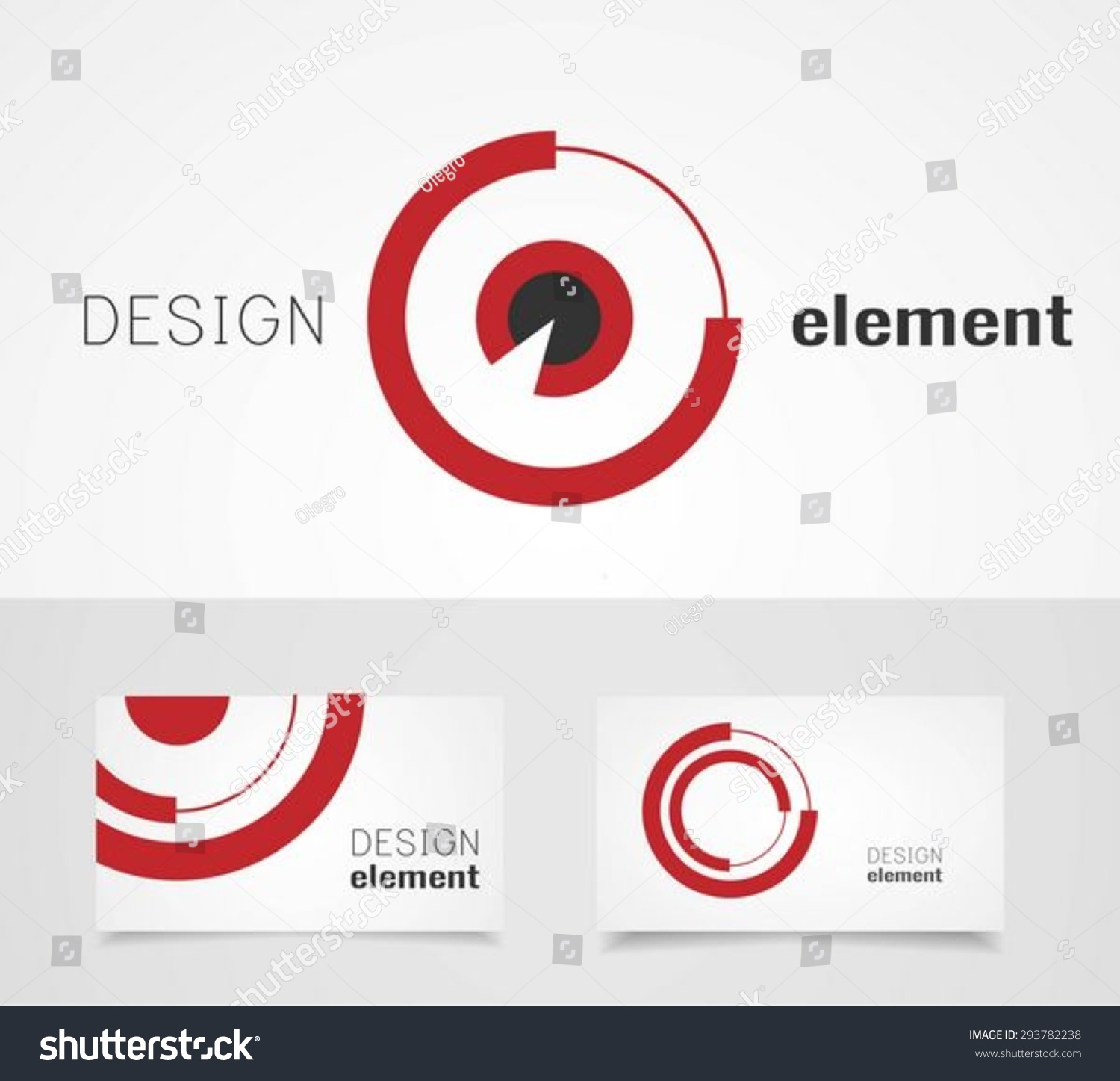 Target Logo Design Template Business Card Stock Vector 293782238 ...