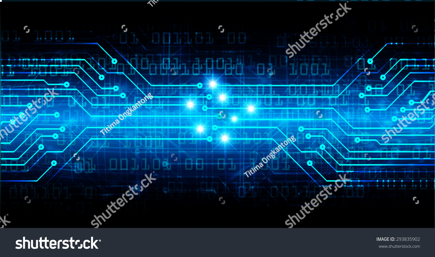 blue color Light Abstract Technology background for computer graphic
