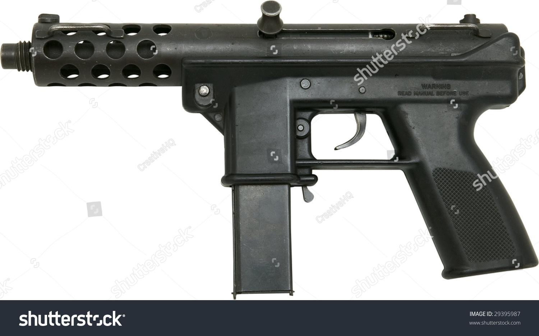mini machine gun isolated on white stock photo edit now 29395987