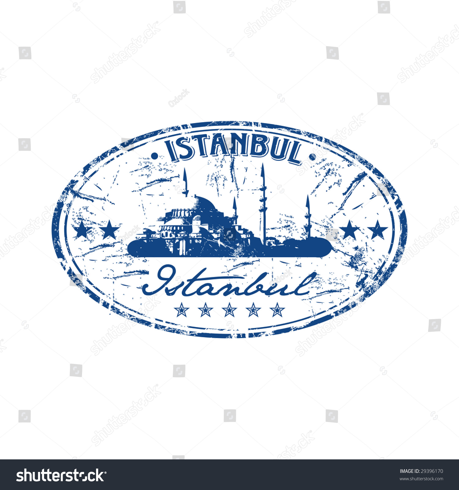 Grunge Oval Rubber Stamp With The Name Of Capital Turkey Written Inside
