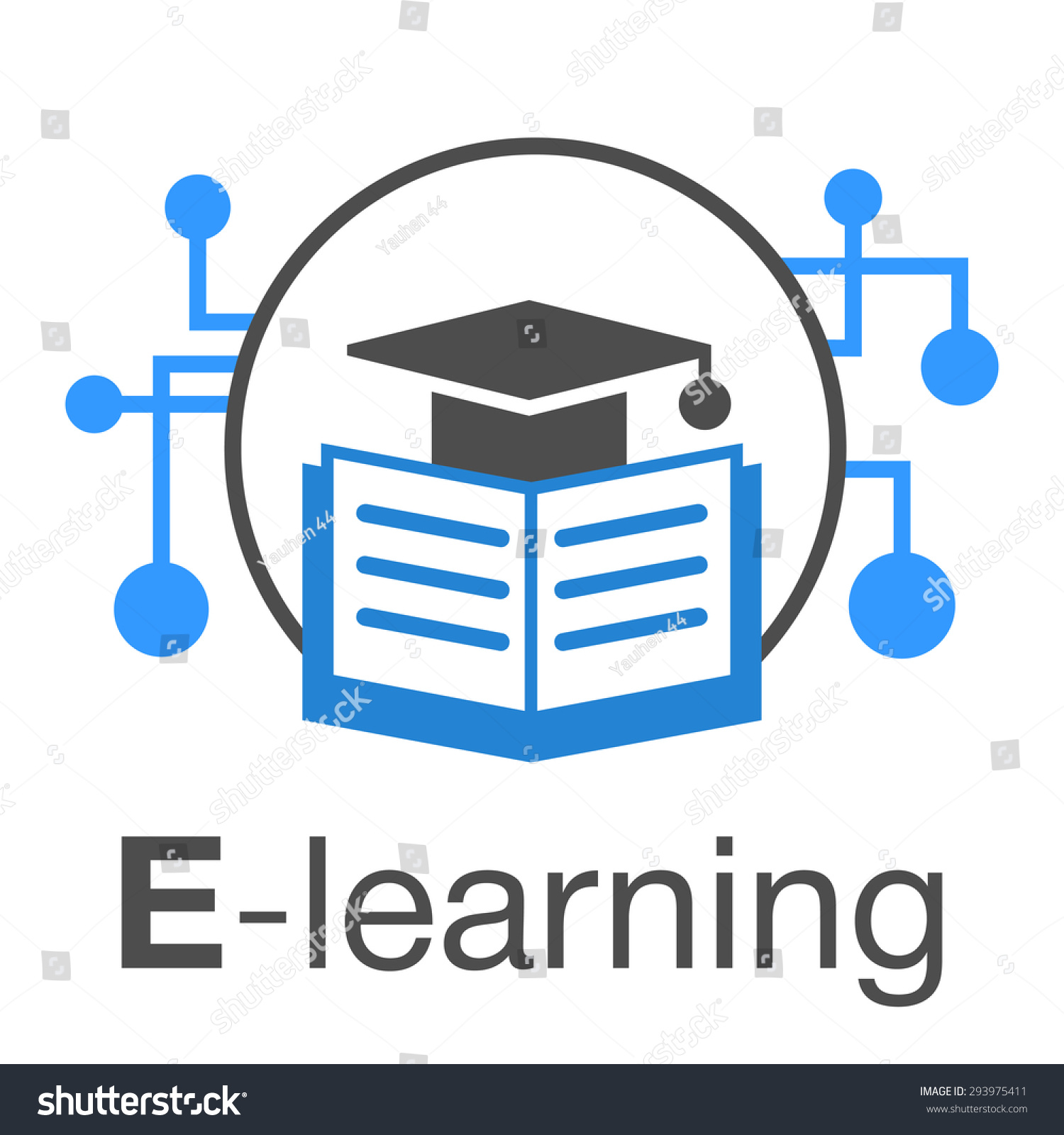 Elearning education internet icon stock vector 293975411 e learning education internet icon biocorpaavc