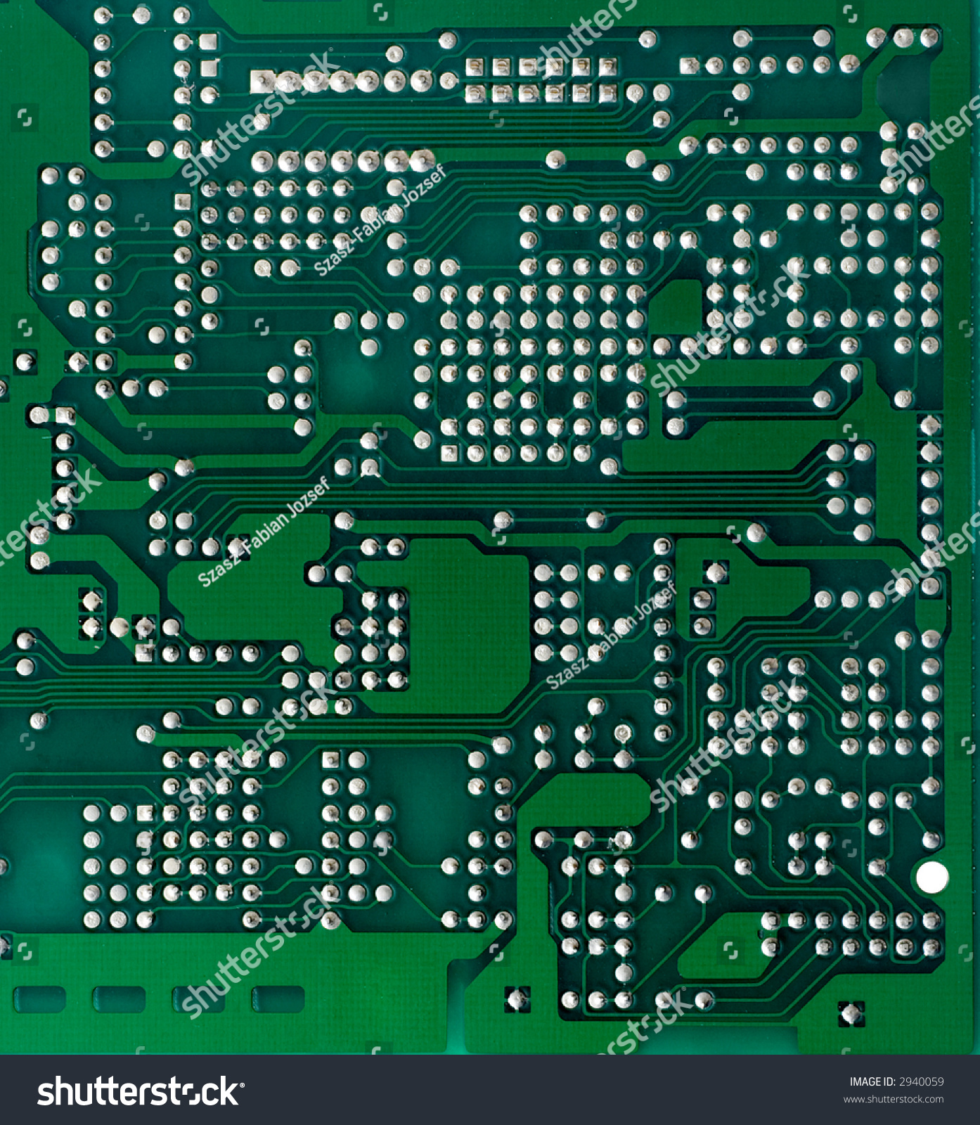 Green Printed Circuit Board Background Solder Stock Photo Edit Now Photos Images Pictures Shutterstock Side
