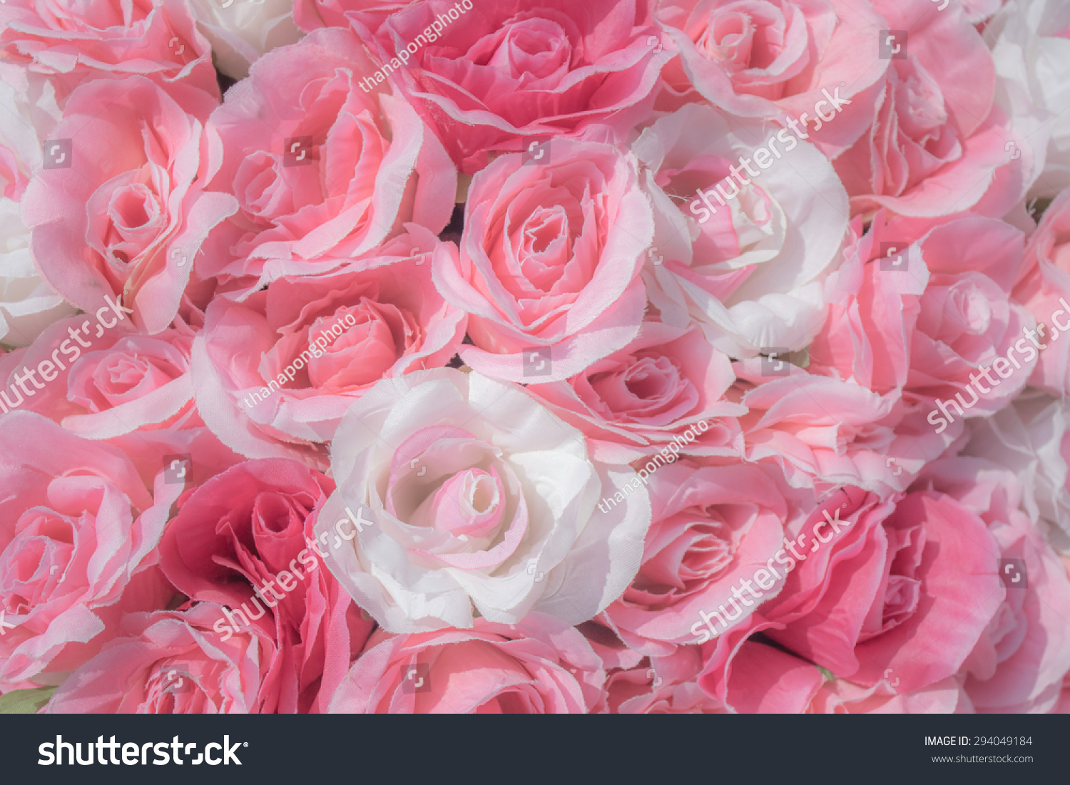 Fake Rose Flower Background Ez Canvas