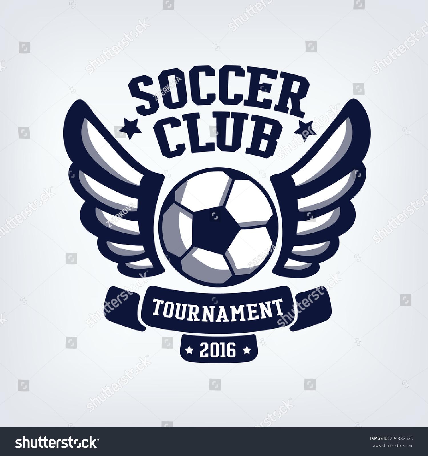 custom soccer crest