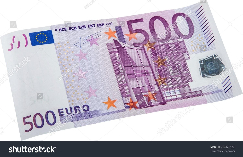 Euro Symbol European Union Currency Five Stock Photo Edit Now